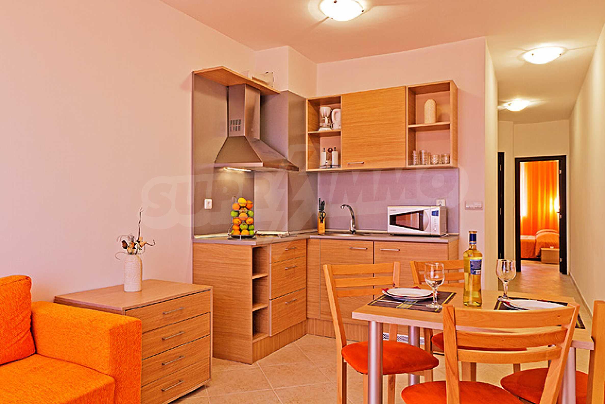 Sunset Kosharitsa - Apartments in einem attraktiven Berg- und Seekomplex, 5 Autominuten vom Sonnenstrand entfernt 16