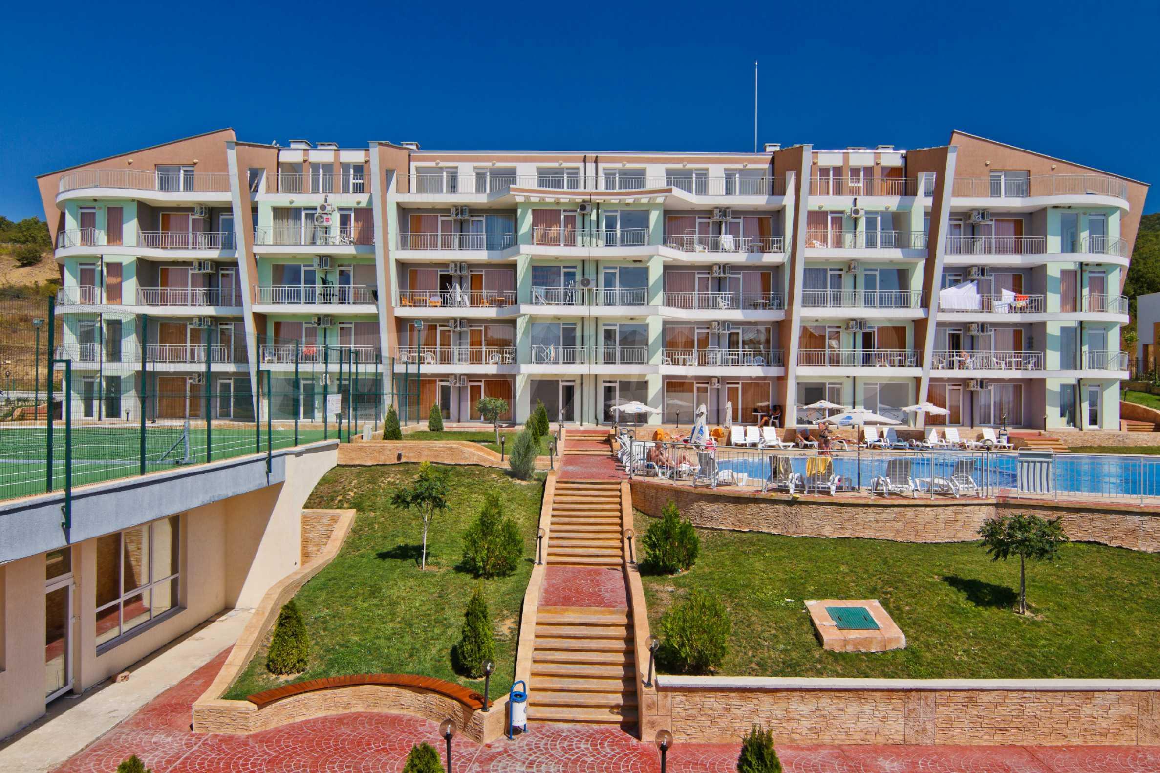 Sunset Kosharitsa - Apartments in einem attraktiven Berg- und Seekomplex, 5 Autominuten vom Sonnenstrand entfernt 4