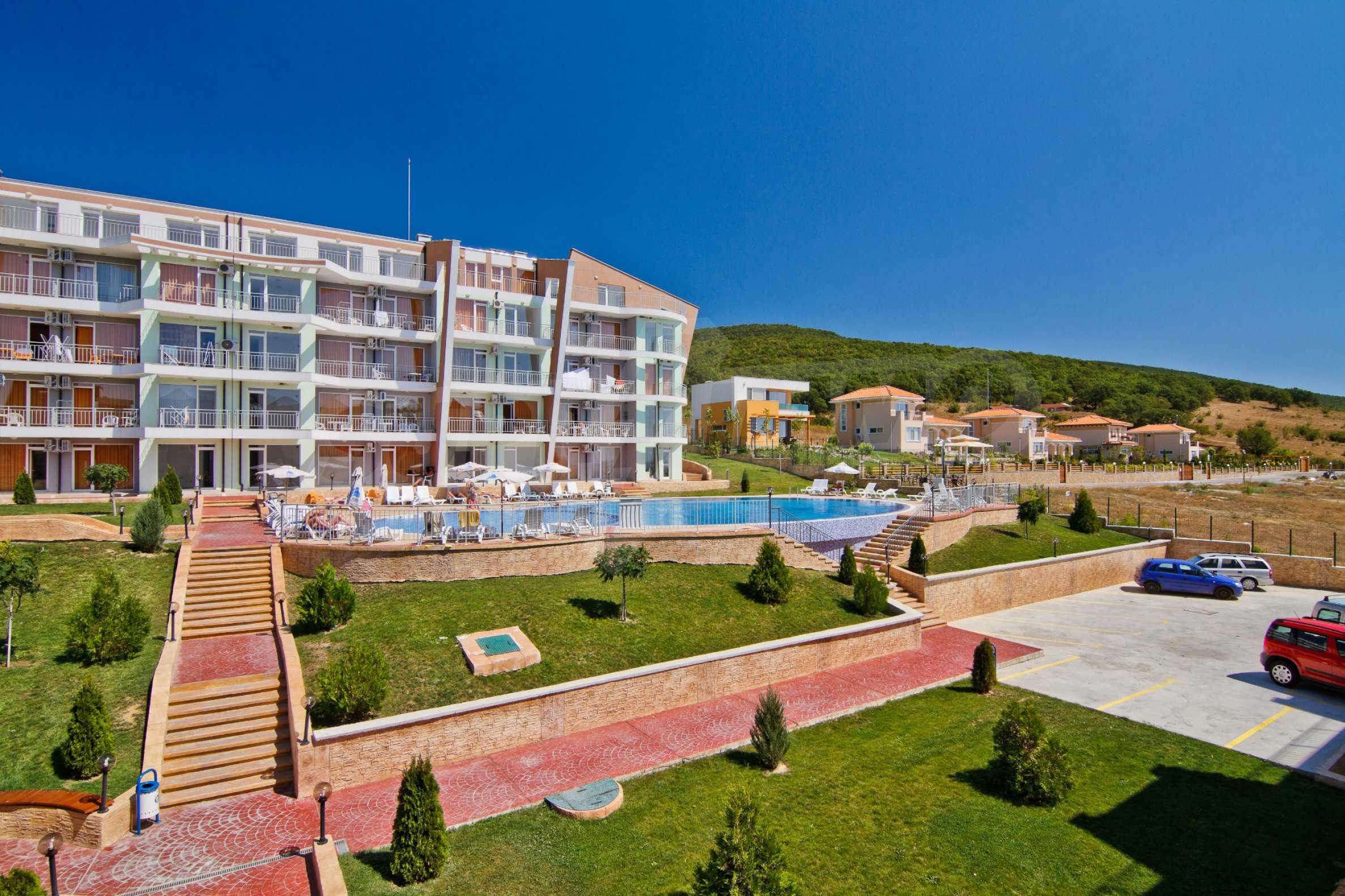 Sunset Kosharitsa - Apartments in einem attraktiven Berg- und Seekomplex, 5 Autominuten vom Sonnenstrand entfernt 5