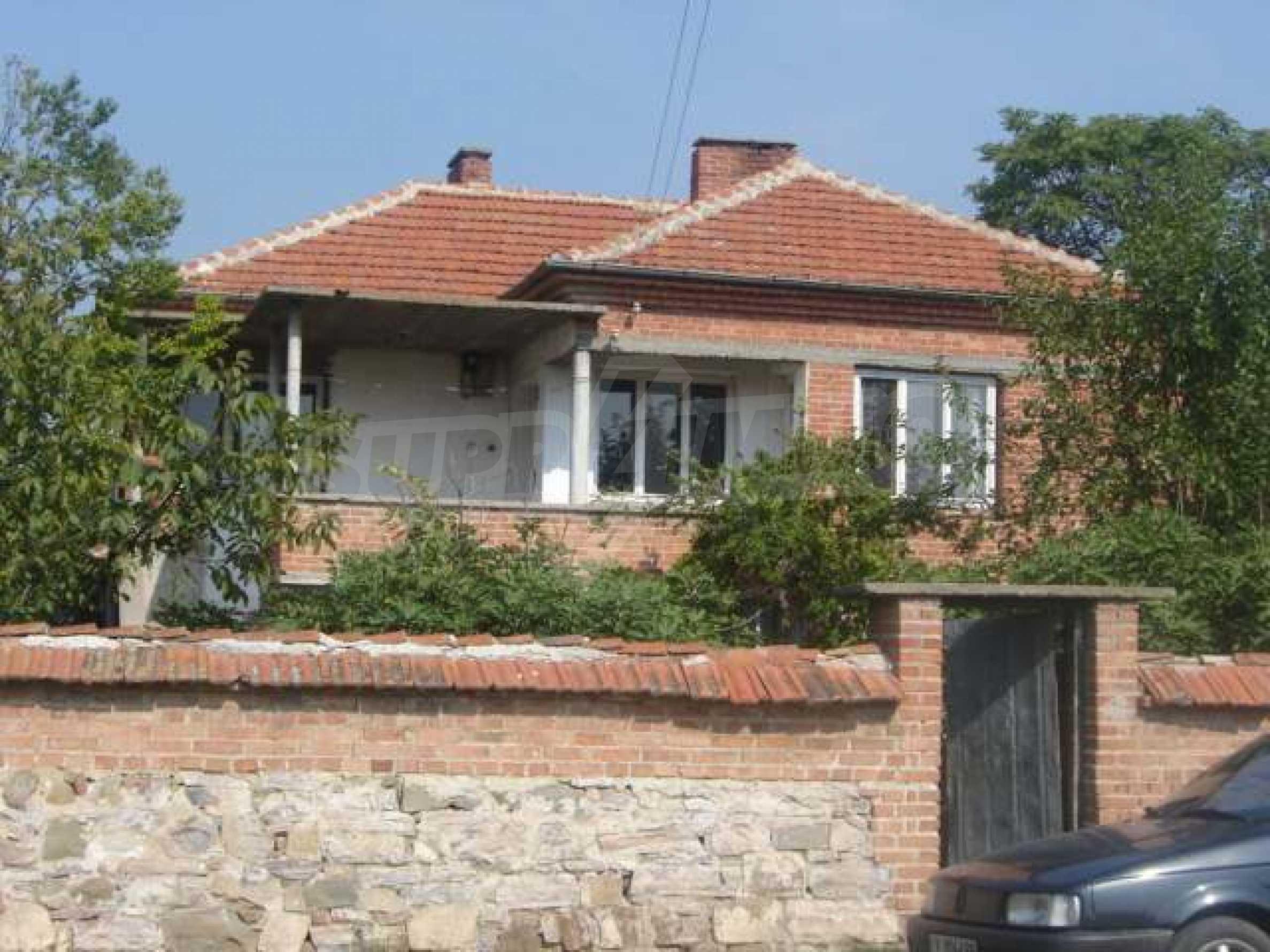Дом в мирной местности