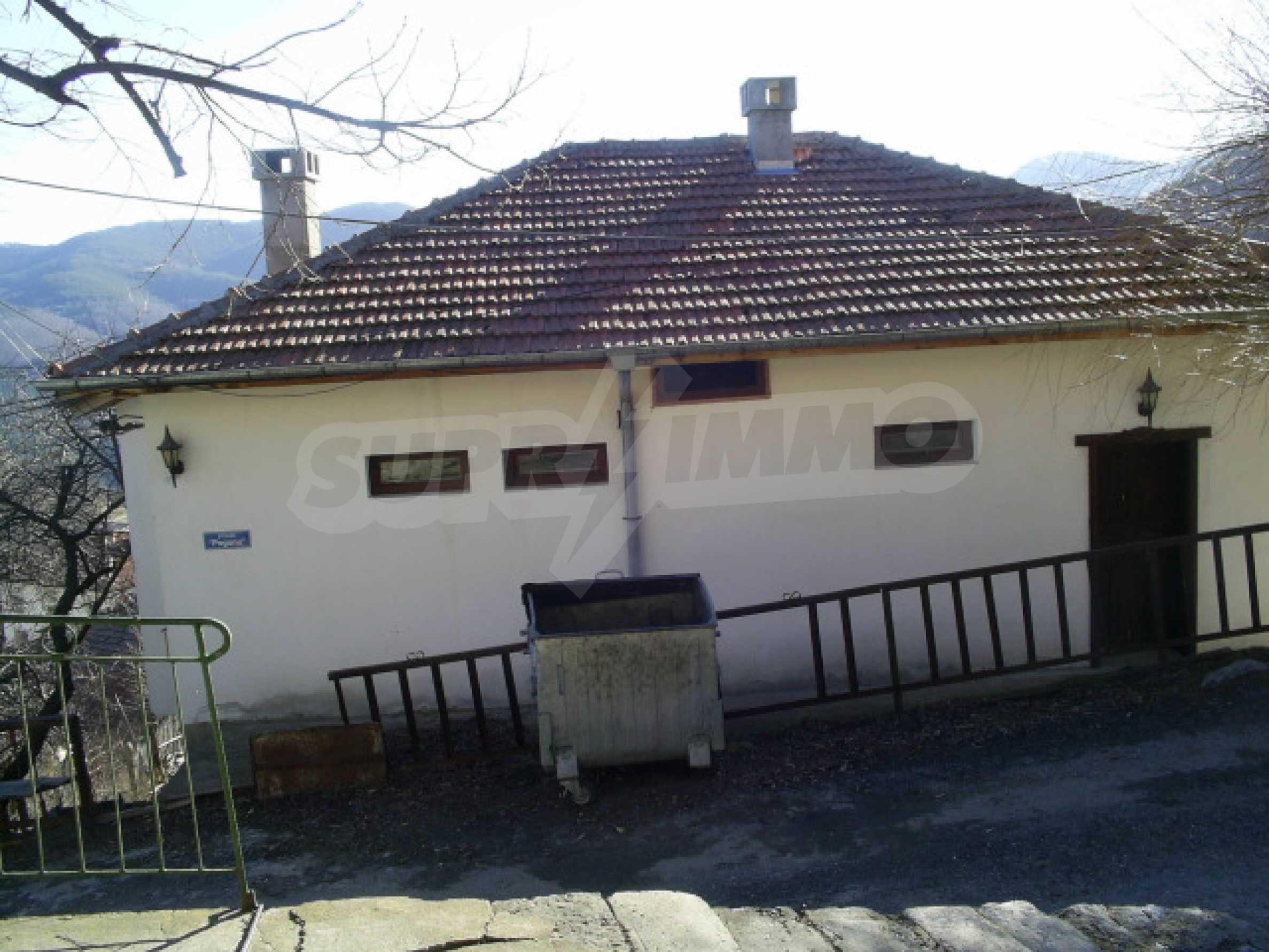 Solides Haus im Rhodopendorf Davidkovo 12