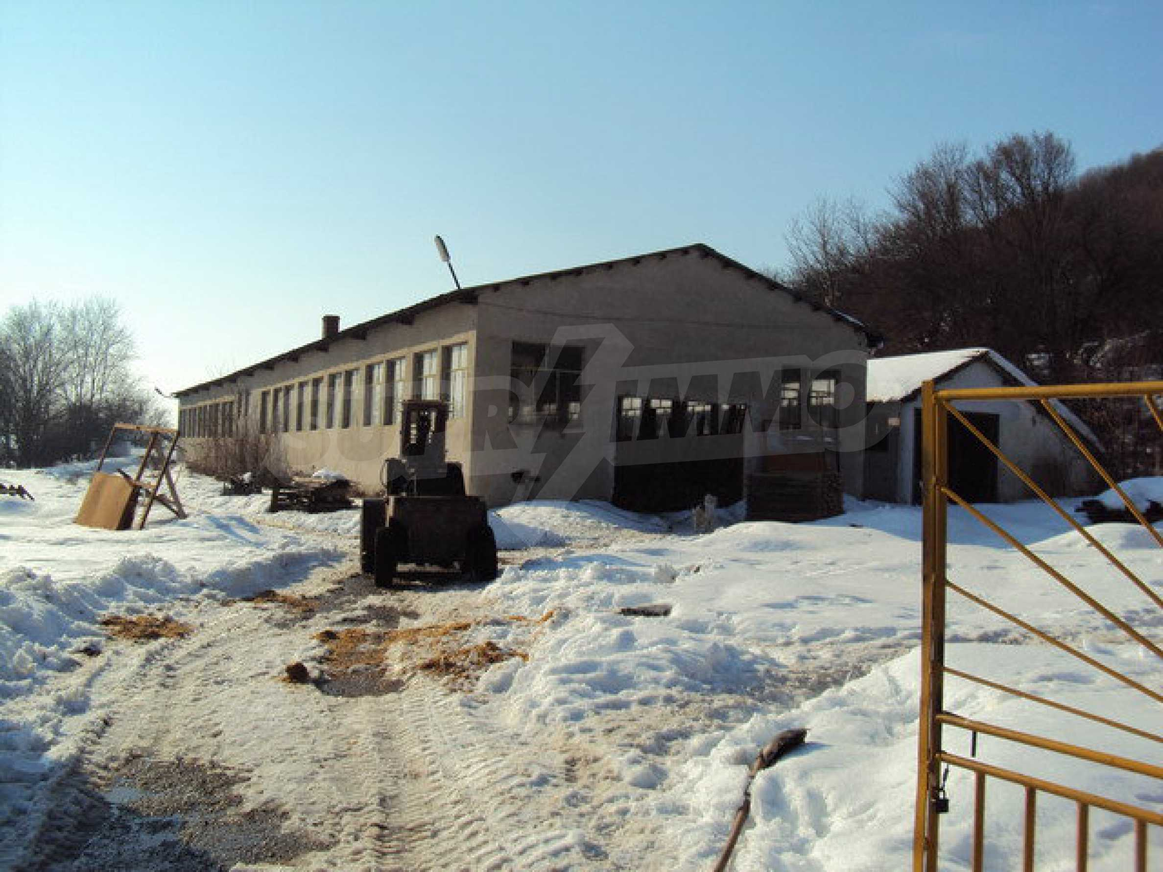 Two-storey house and a wood processing factory located in a village near Lovech 3
