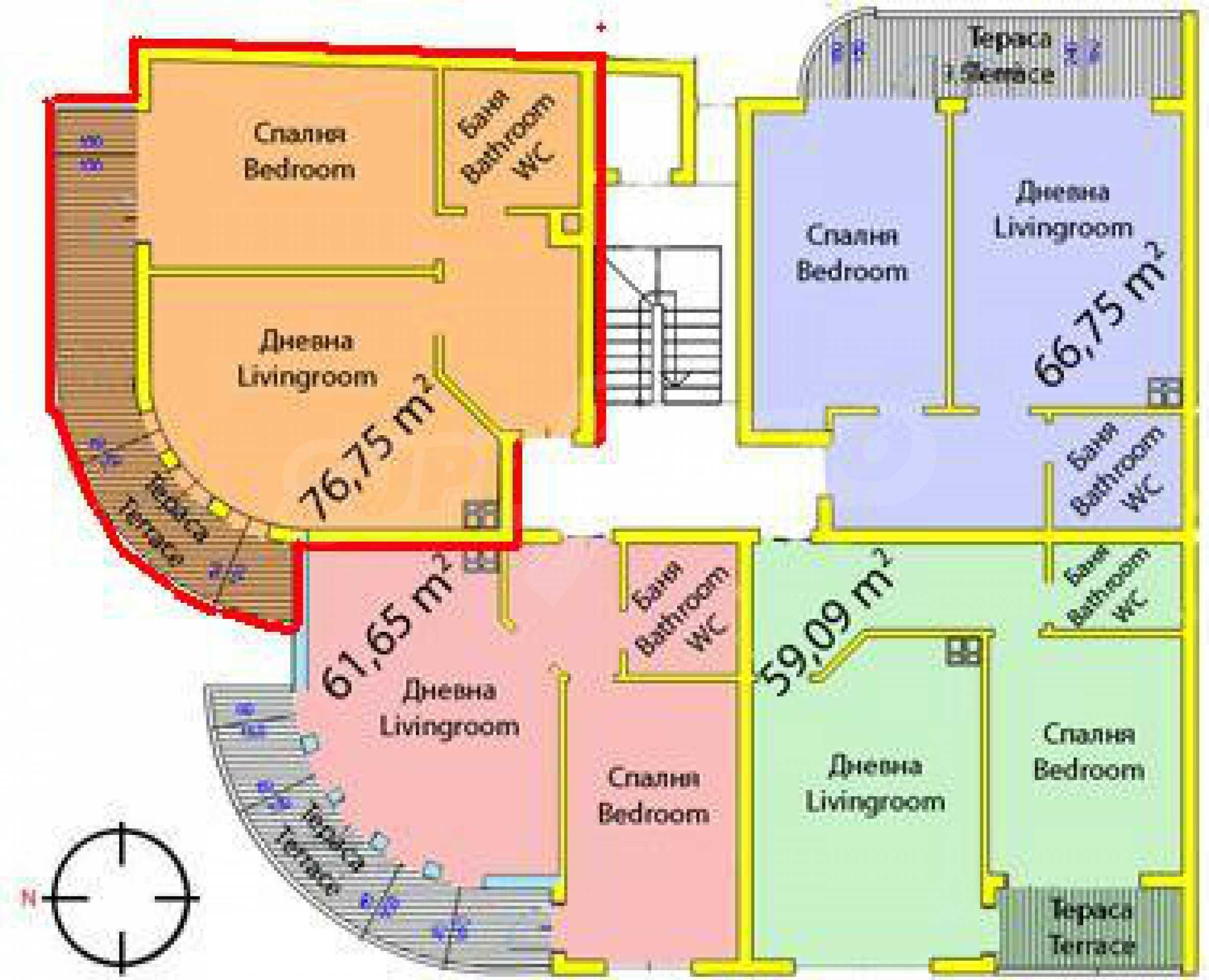 Ein-Zimmer-Wohnung / Büro in Veliko Tarnovo 11
