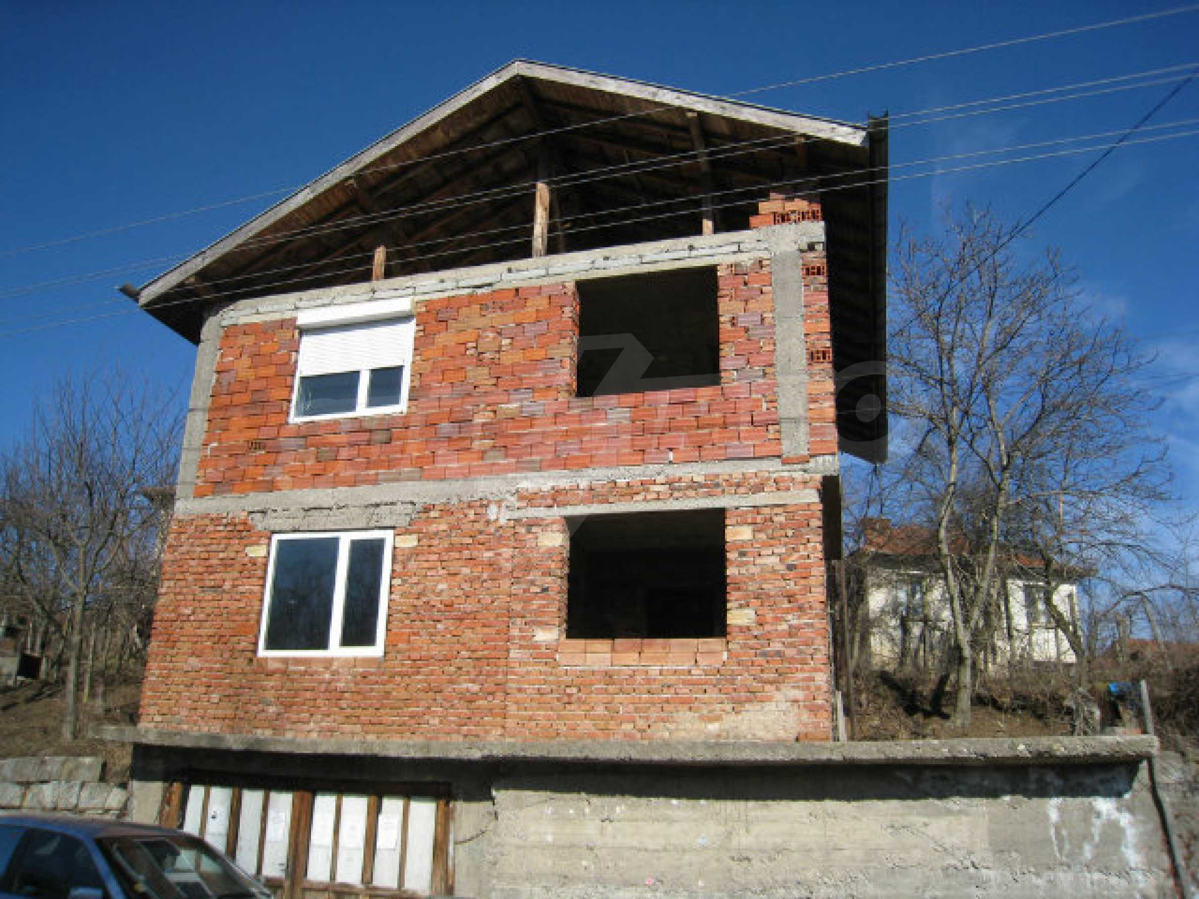 Old and new houses with yard in village 21 km from Kyustendil 56