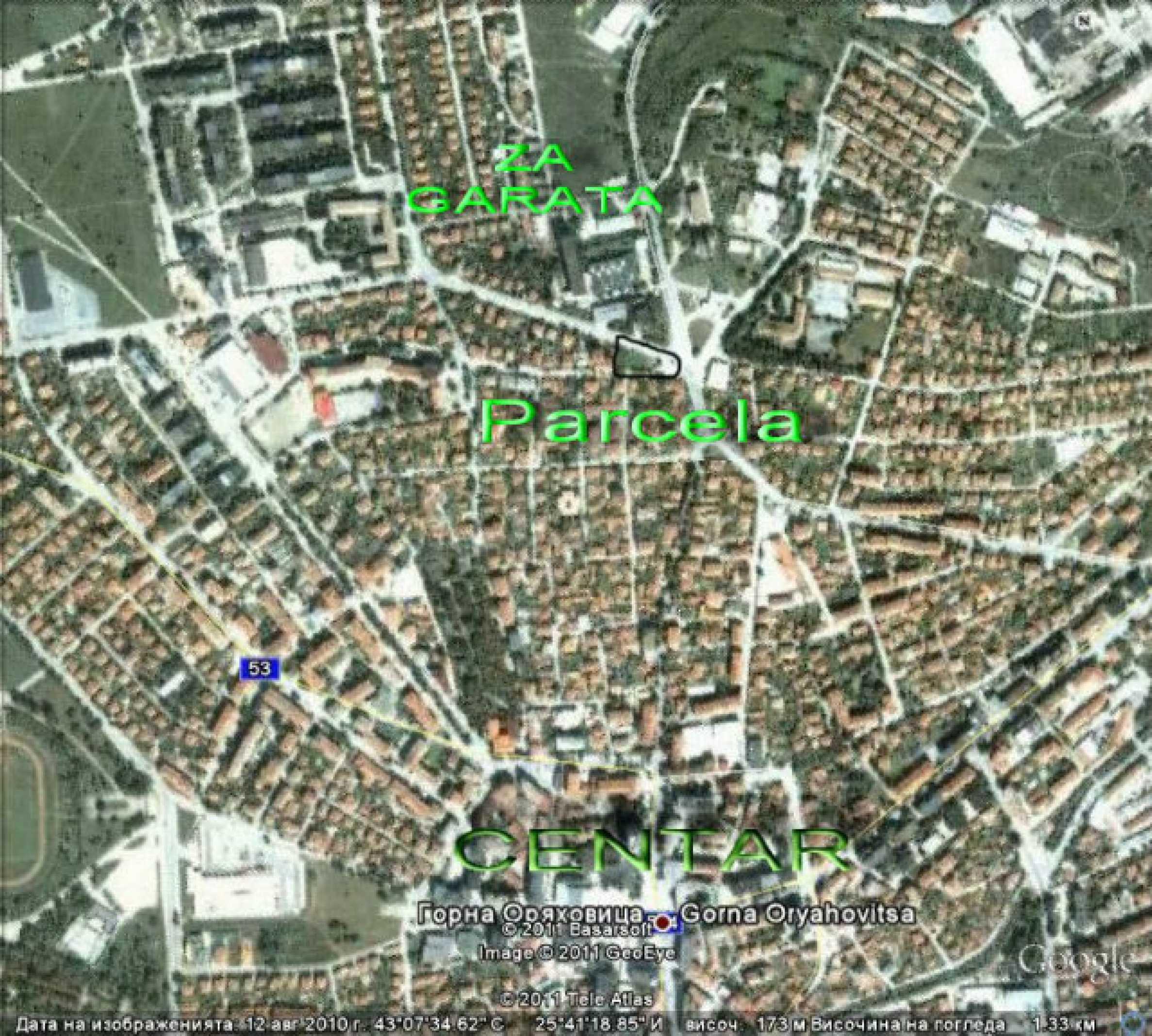 Geregeltes Baugrundstück in Gorna Oryahovitsa 2