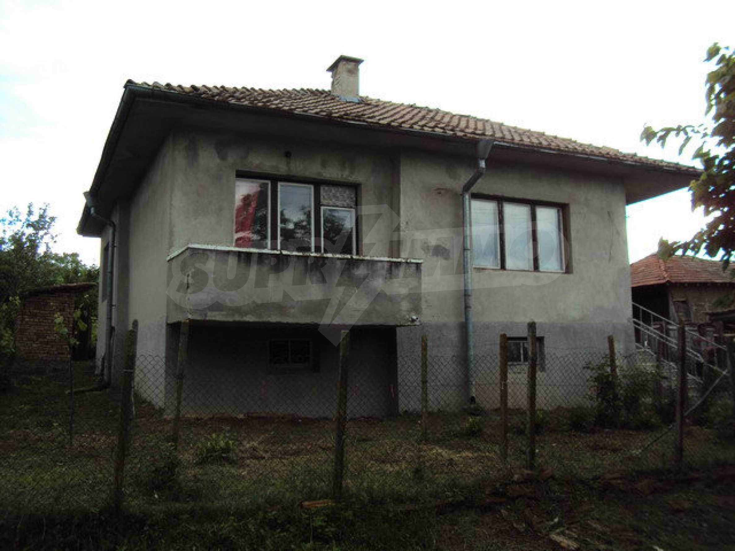 A house on two levels with garden  50 km. from the old capital of Veliko Tarnovo