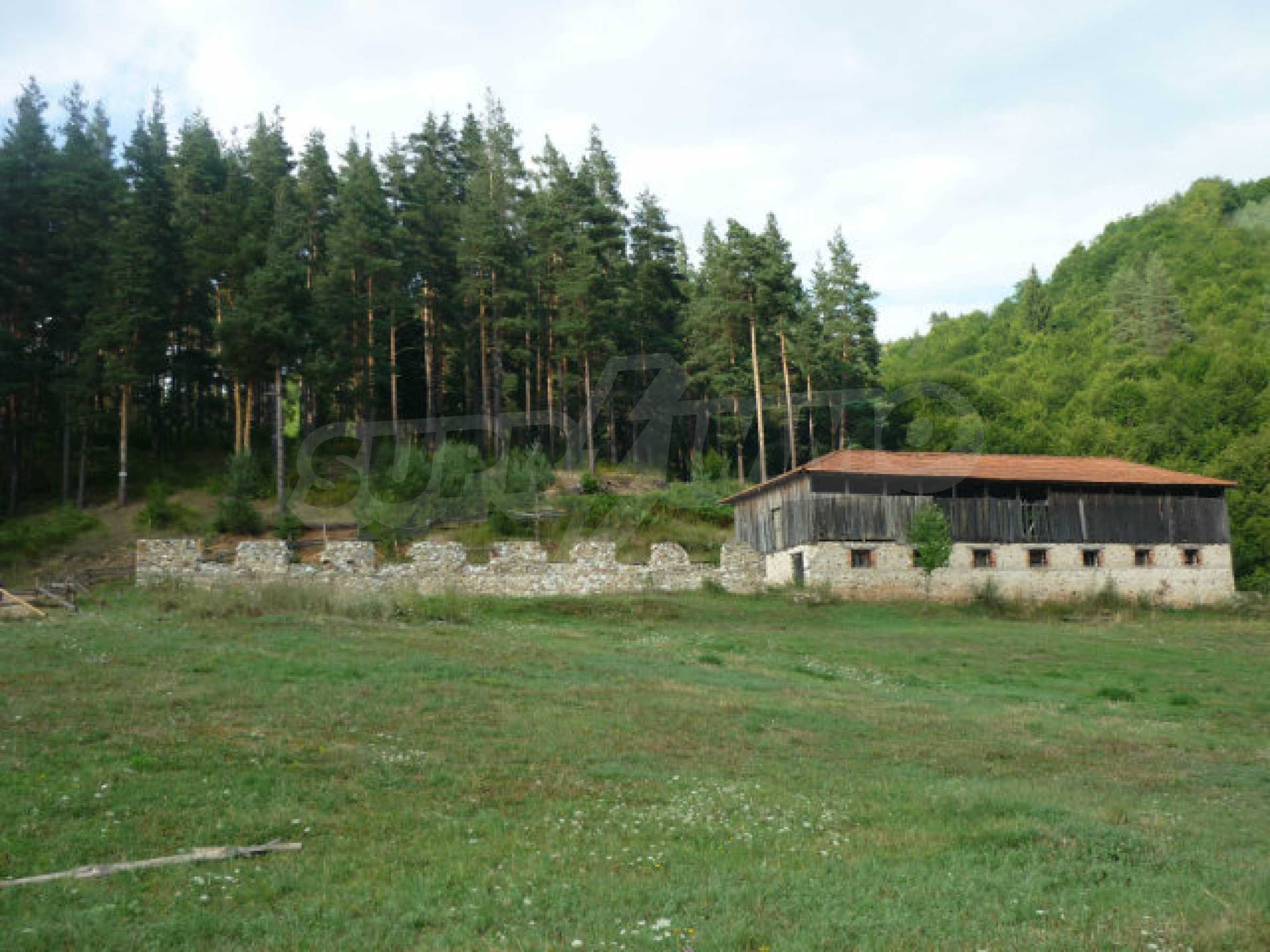 Large regulated plot of land in a quiet area near Smolyan 2