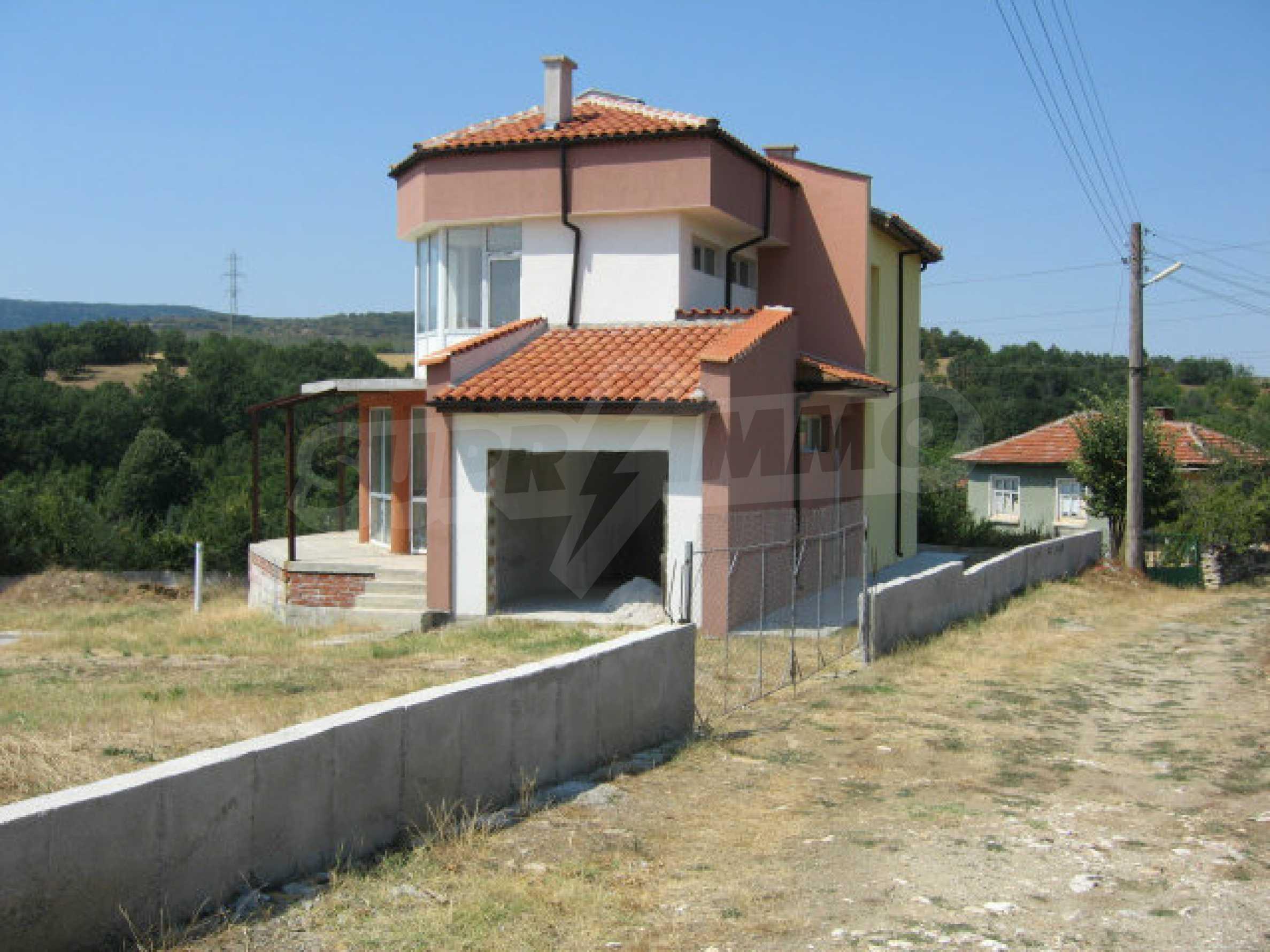 Newly-built house with beautiful views to the Sakar mountains near Topolovgrad 1