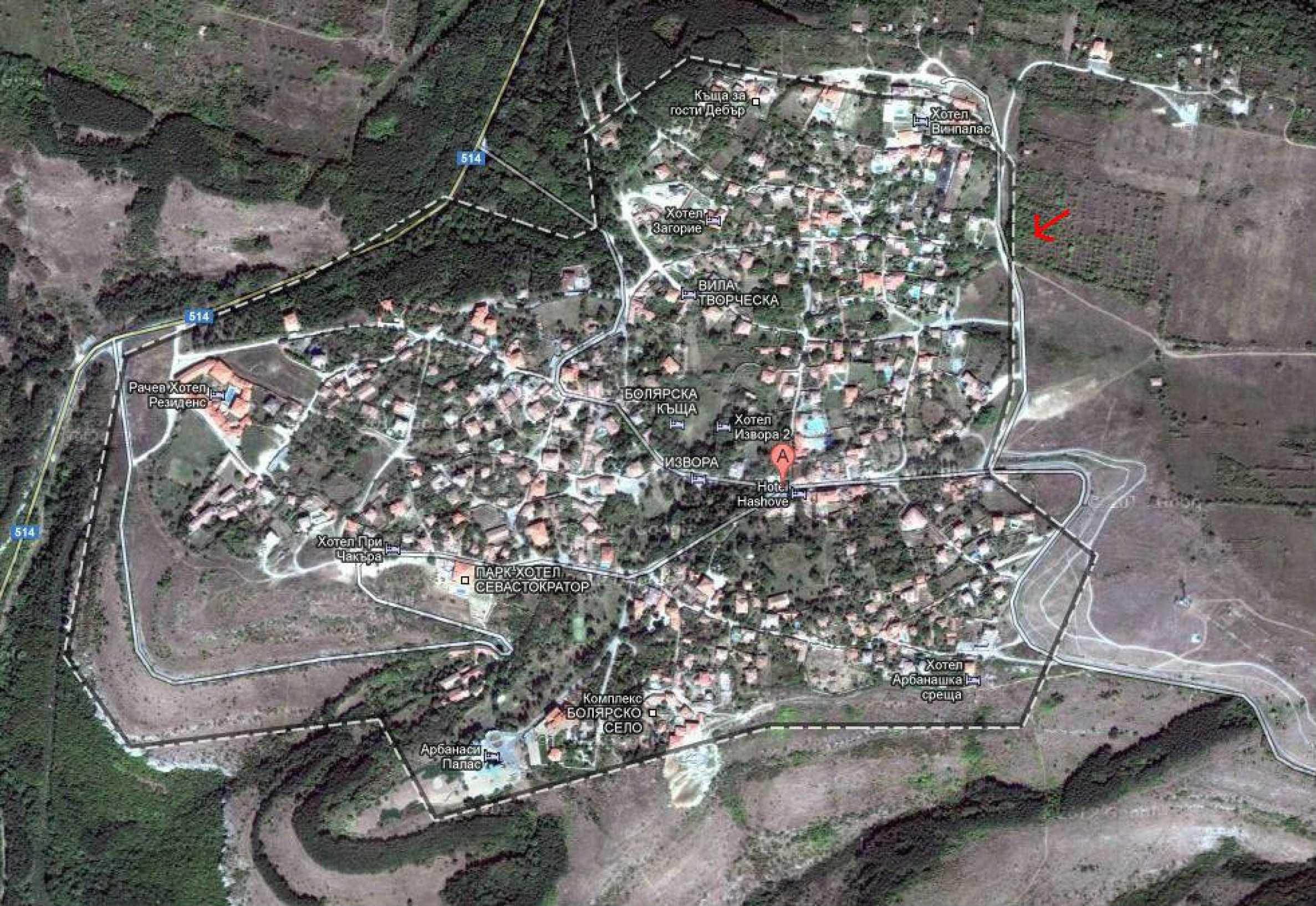 Plot  in Arbanassi with good location 11