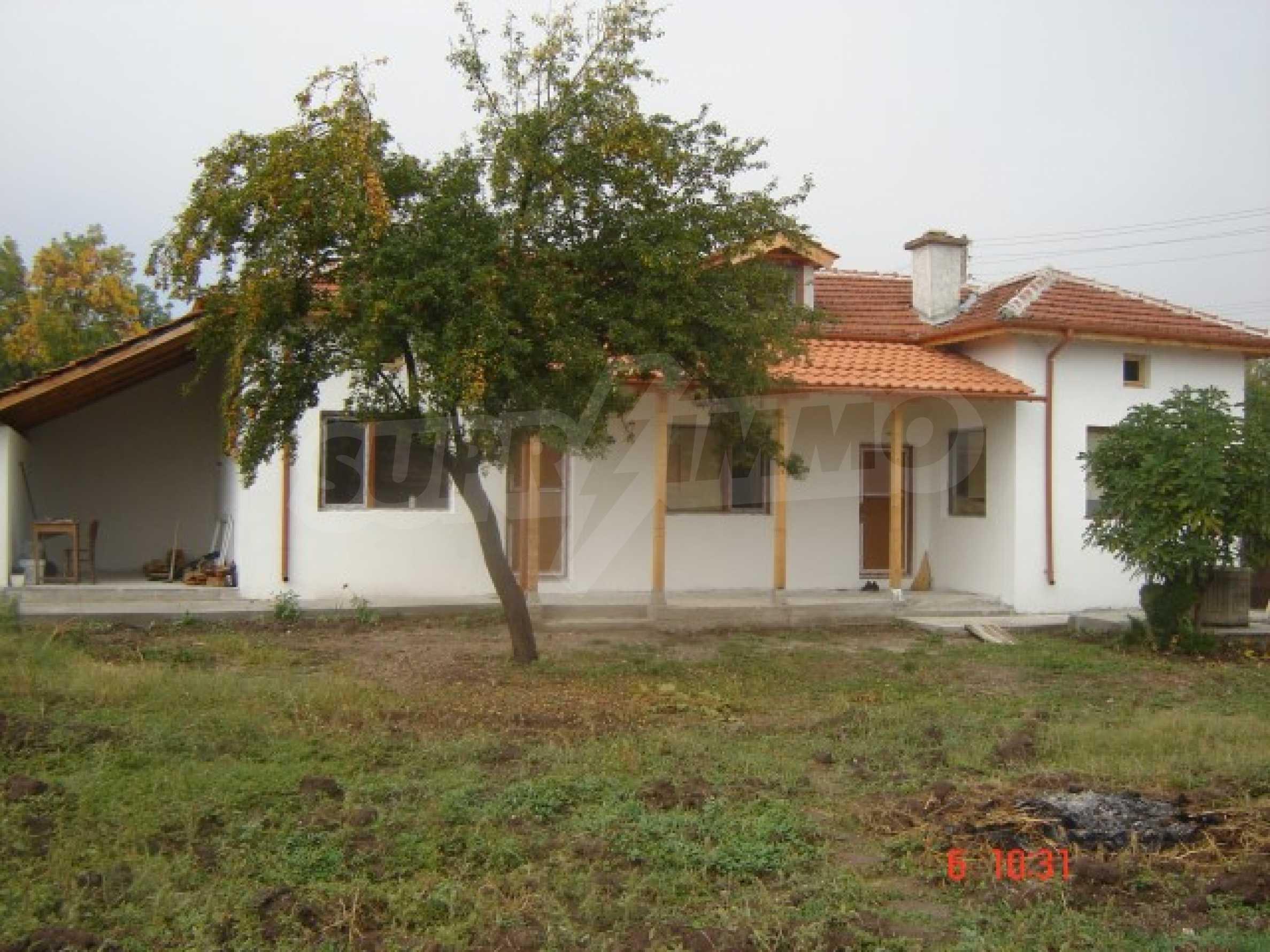 Neu gebautes Haus zum Verkauf in der Nähe von Ivaylovgrad Damm