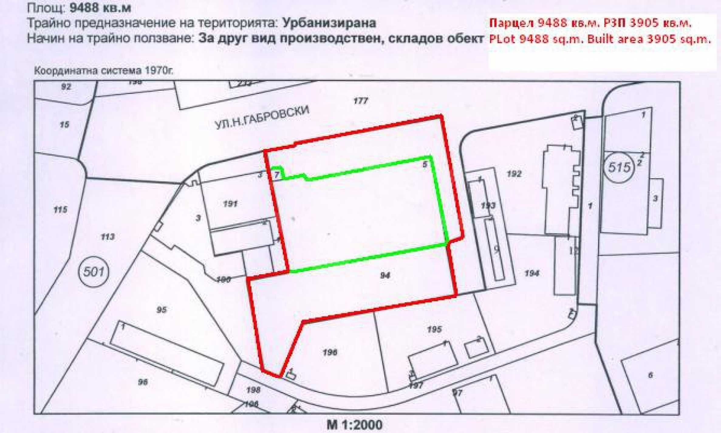 Land with buildings in the industrial area of Veliko Tarnovo 7