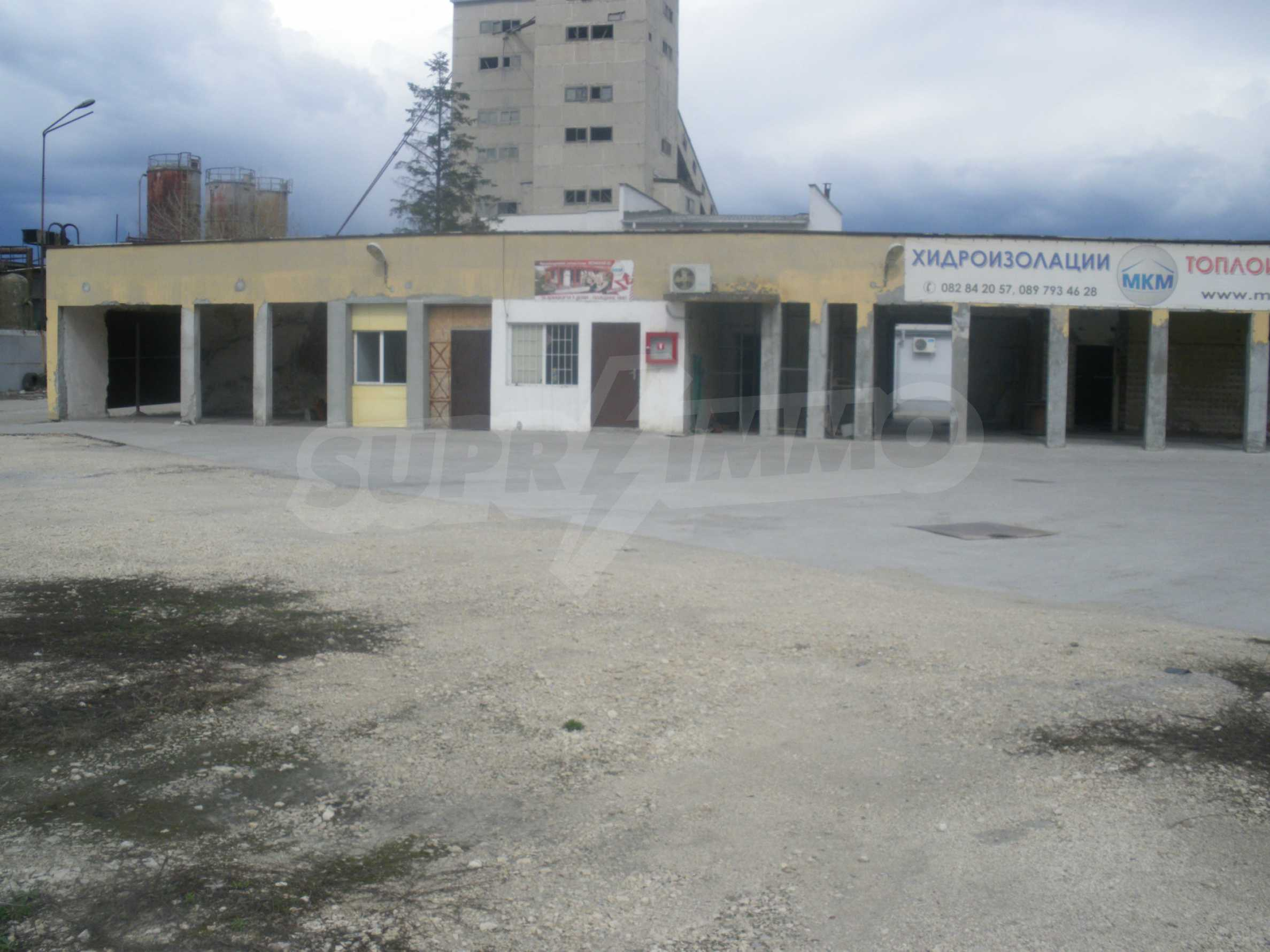 Storehouses in the industrial part of Ruse