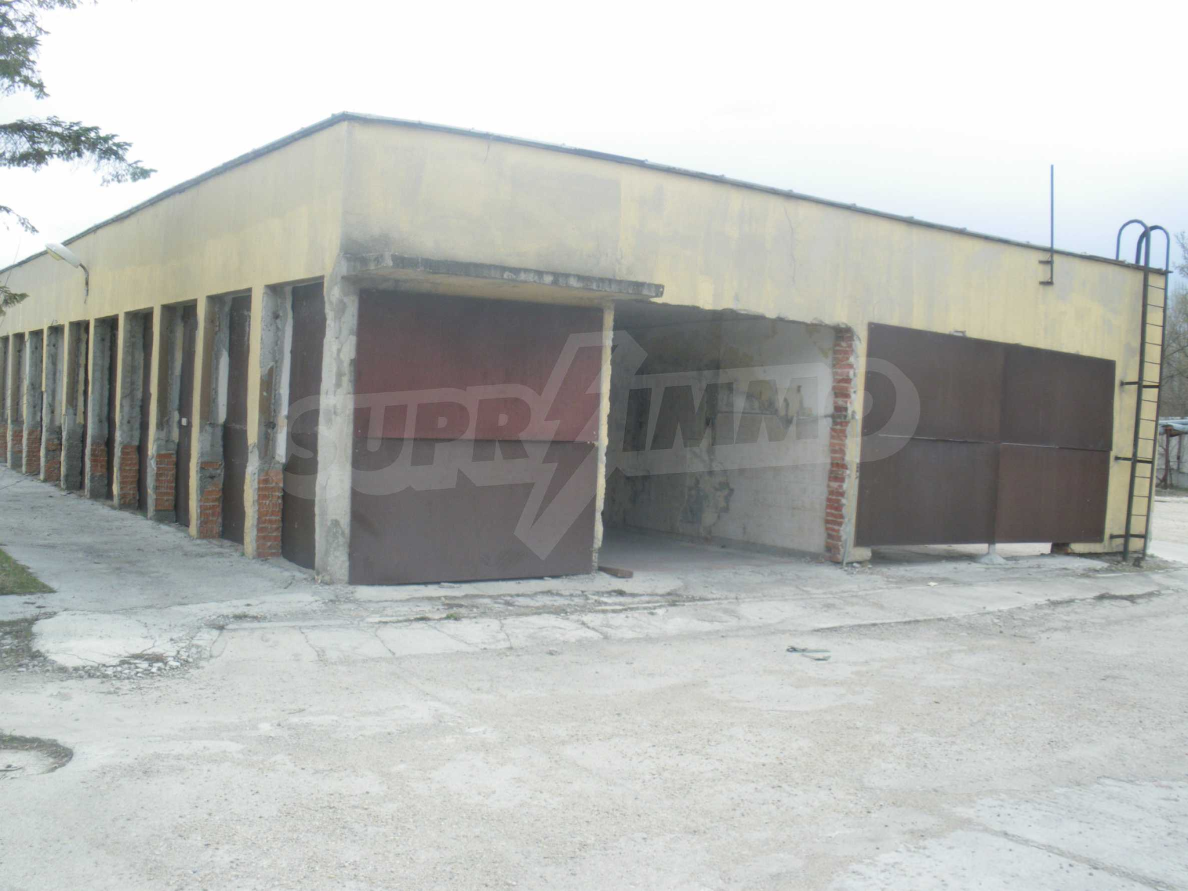 Storehouses in the industrial part of Ruse 2