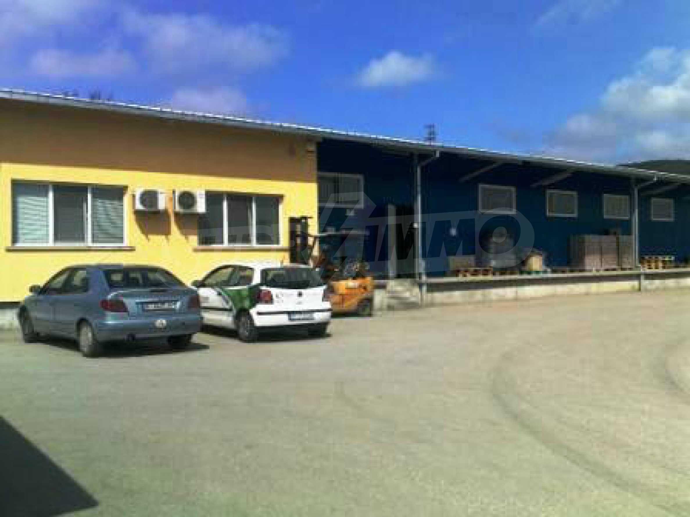Handels- und Lagerbasis an der Hauptstraße Ruse - Svilengrad 5