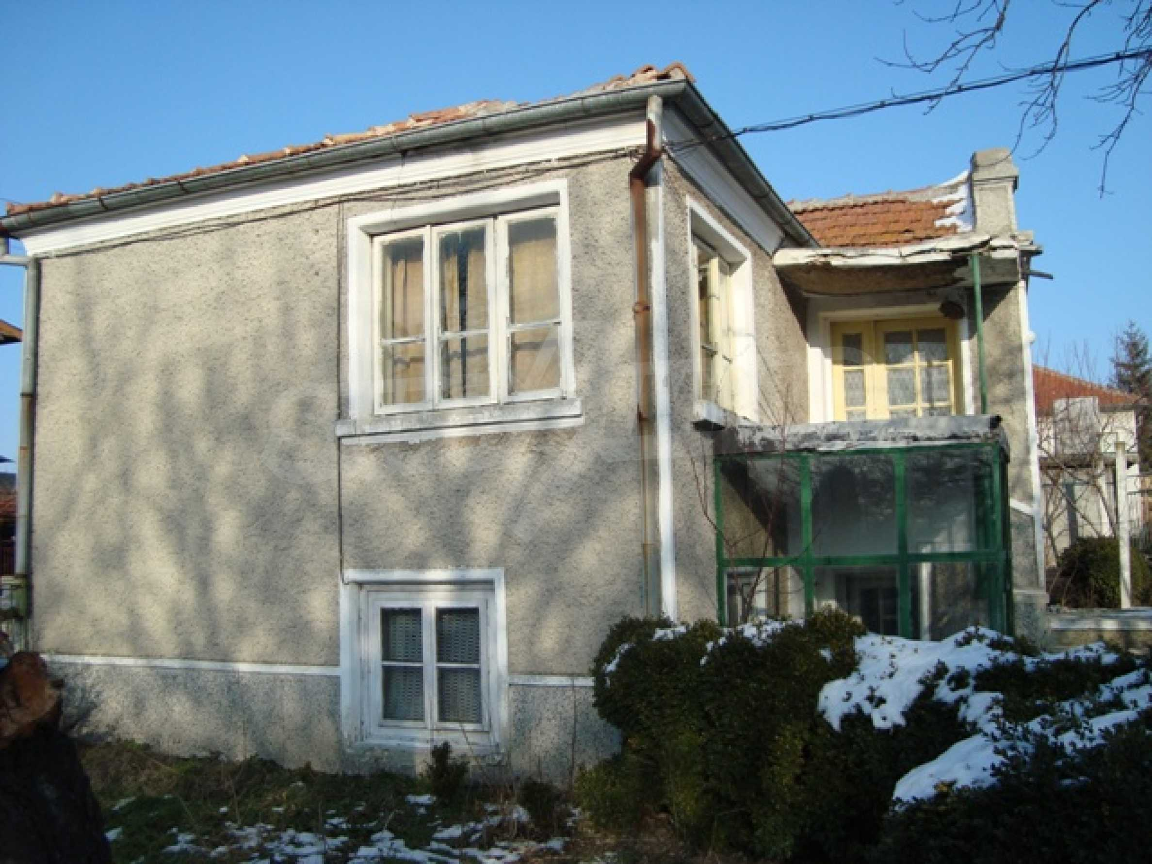 A traditional Bulgarian house in Vetrino