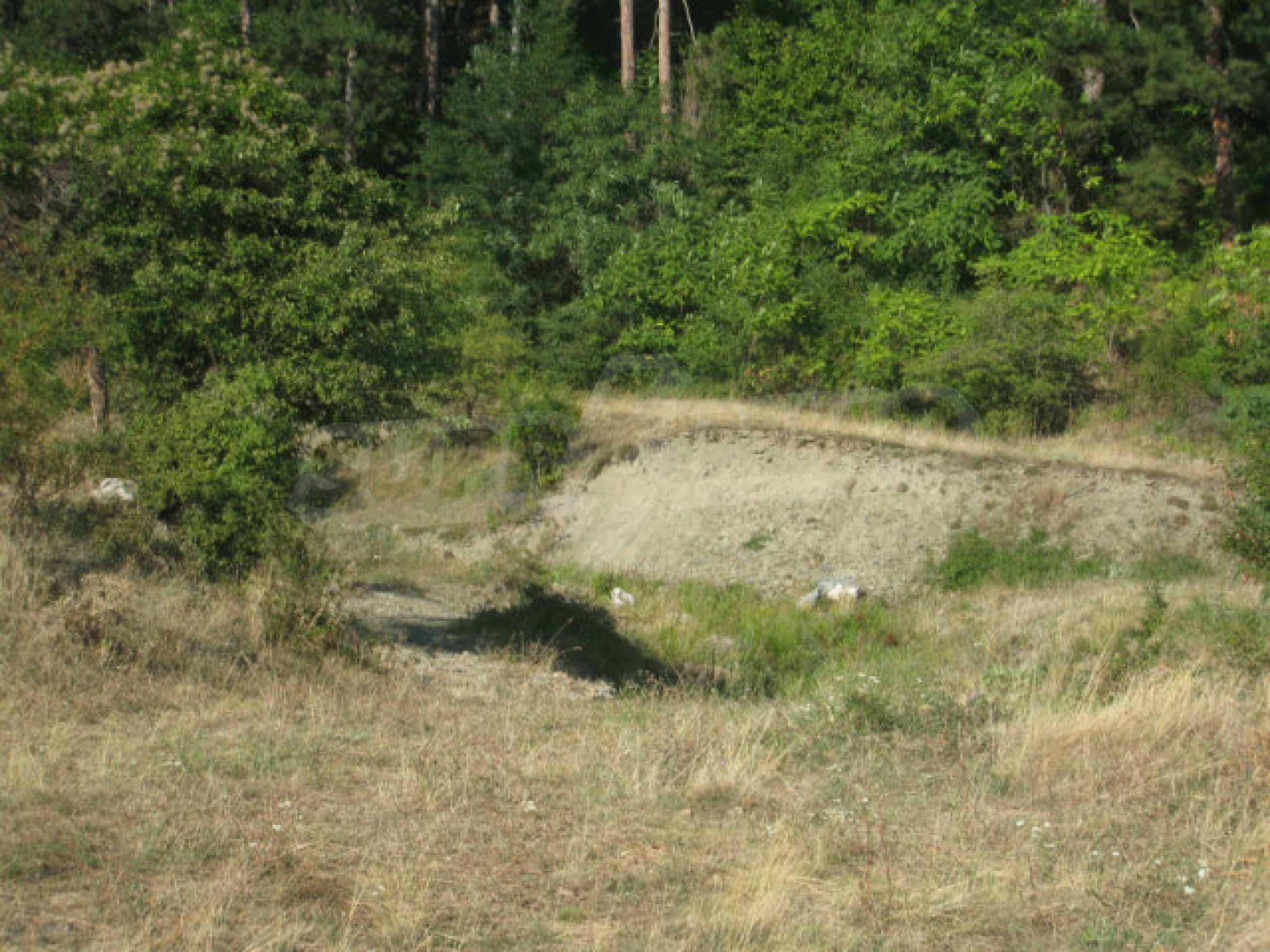 Regulated plot of land in a quiet village near the sub-Balkan road 10