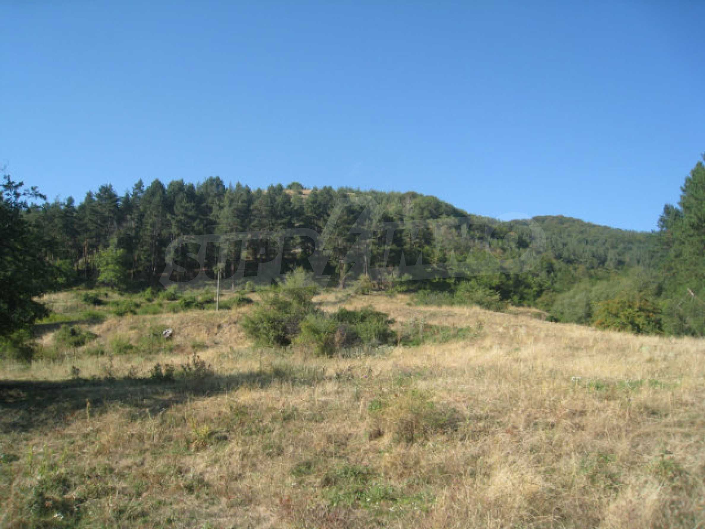 Regulated plot of land in a quiet village near the sub-Balkan road 14