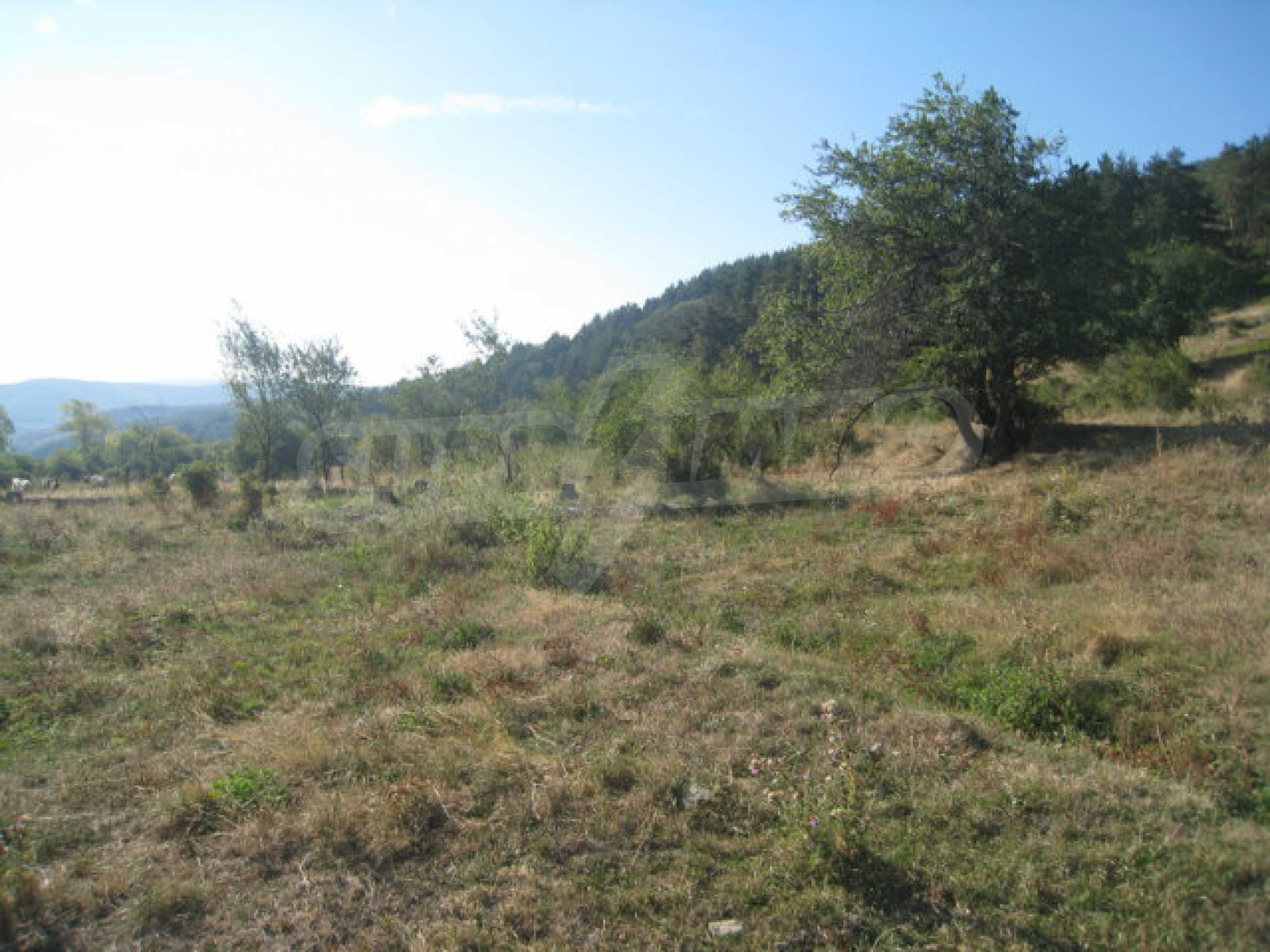 Regulated plot of land in a quiet village near the sub-Balkan road 26