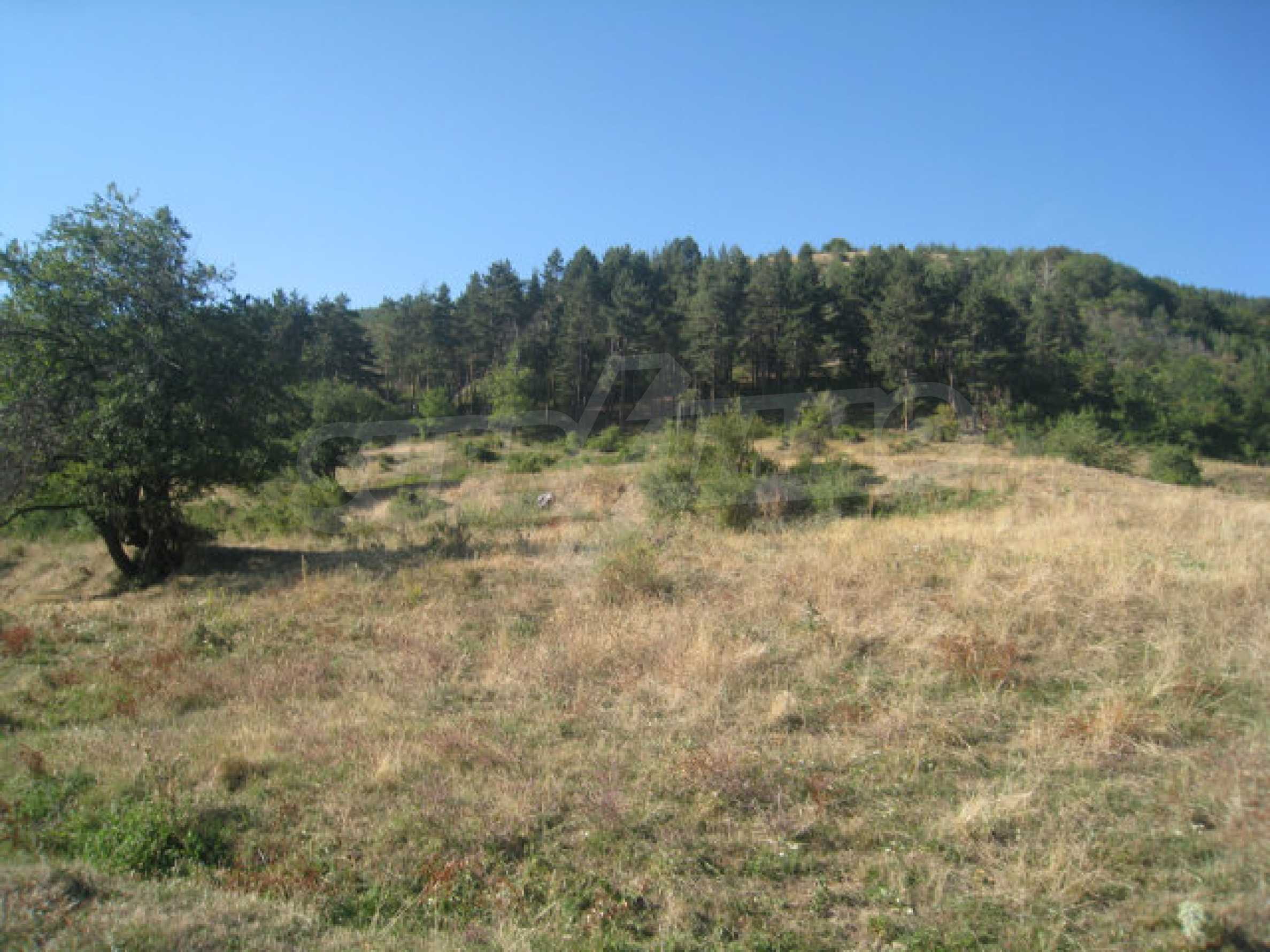 Regulated plot of land in a quiet village near the sub-Balkan road 27