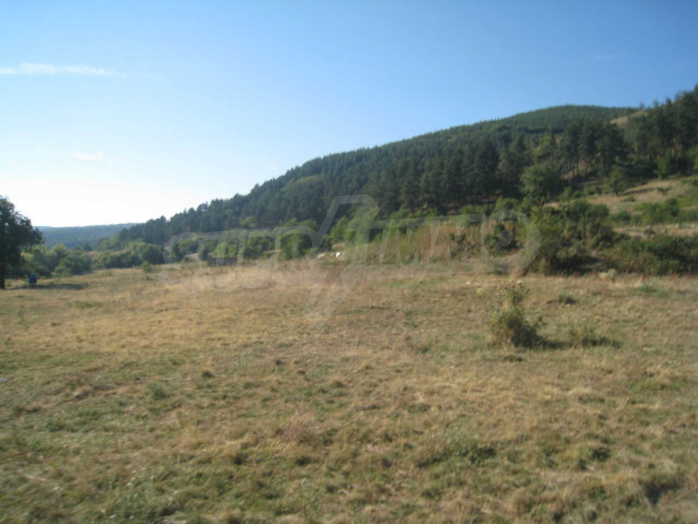 Regulated plot of land in a quiet village near the sub-Balkan road 5