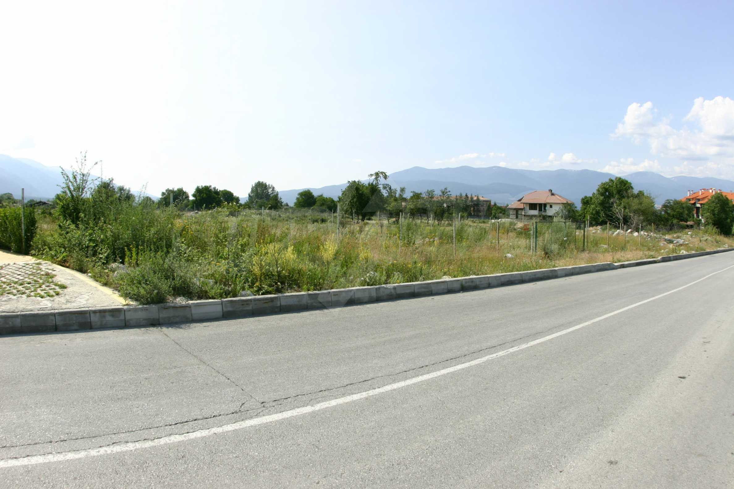 Agricultural land at the ring road in Bansko
