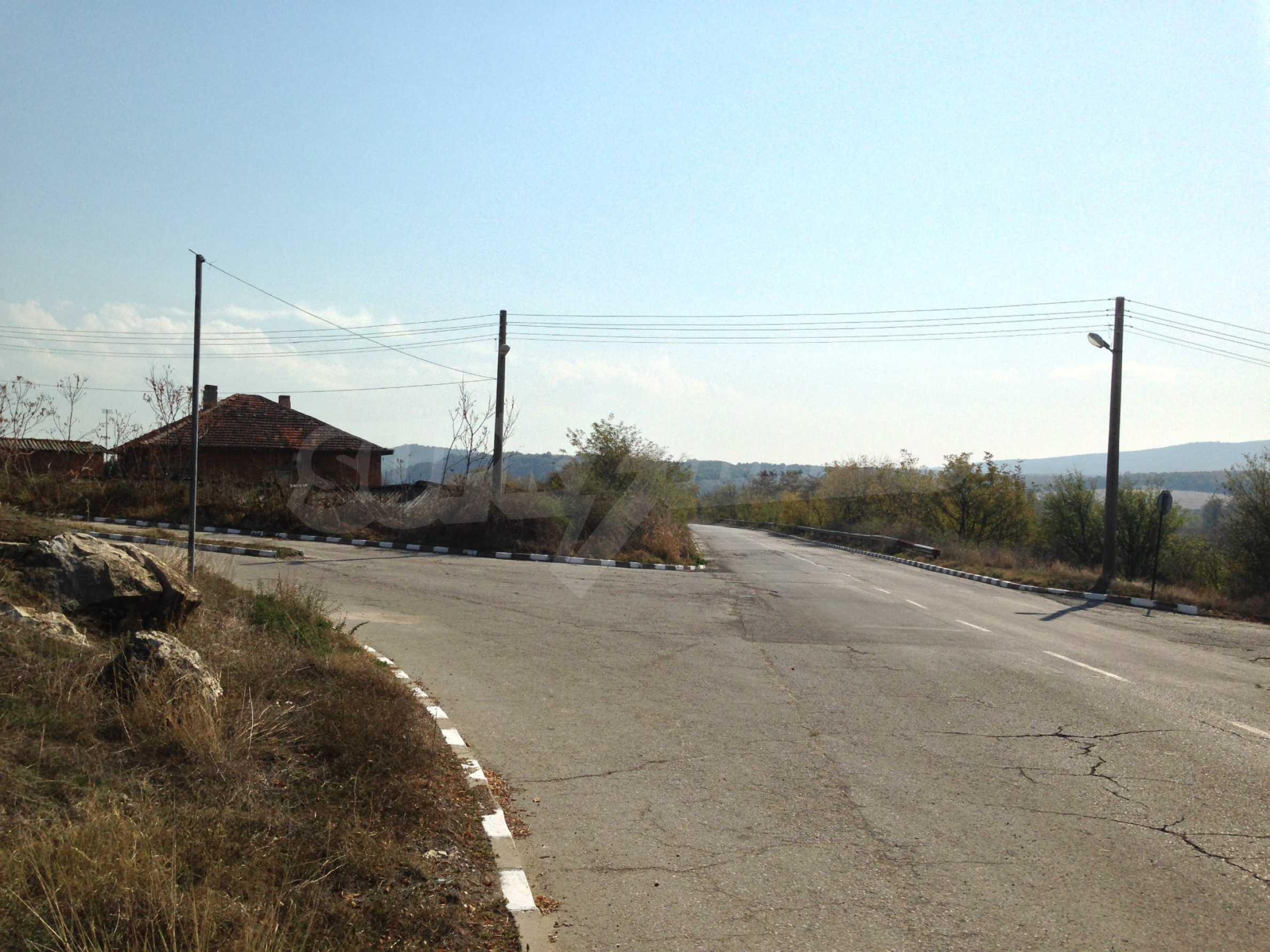 Regulated plot of land at main road near the Maritsa river 2