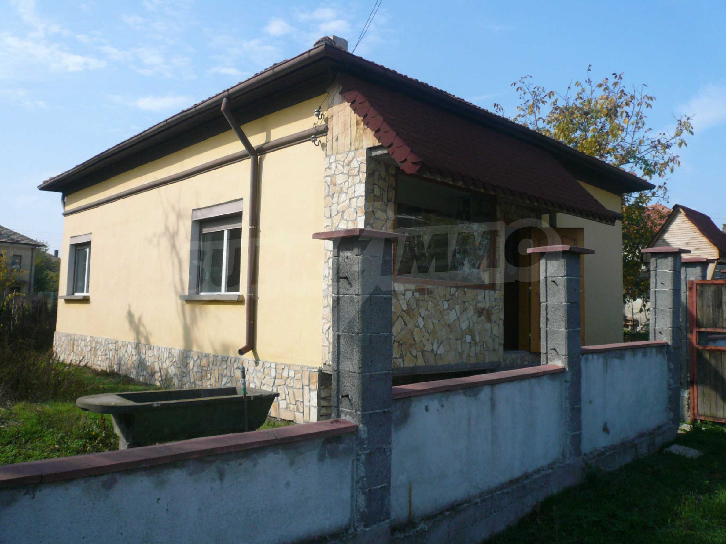 Renovated house with yard near the center of Kula