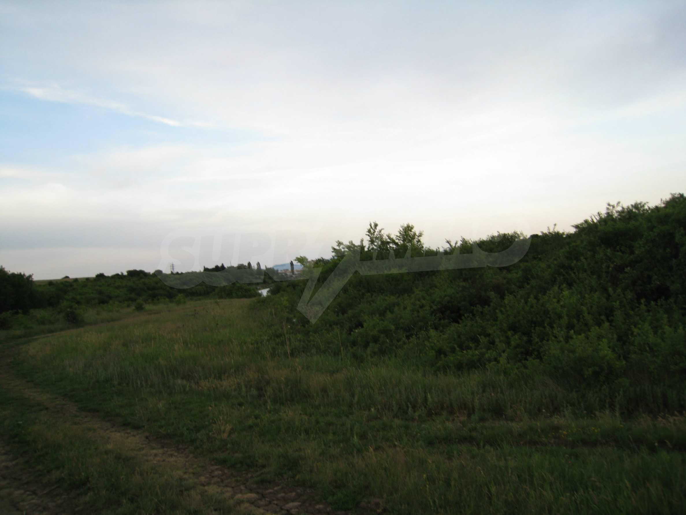 Ackerland in der Nähe eines Sees in Suhodol 13