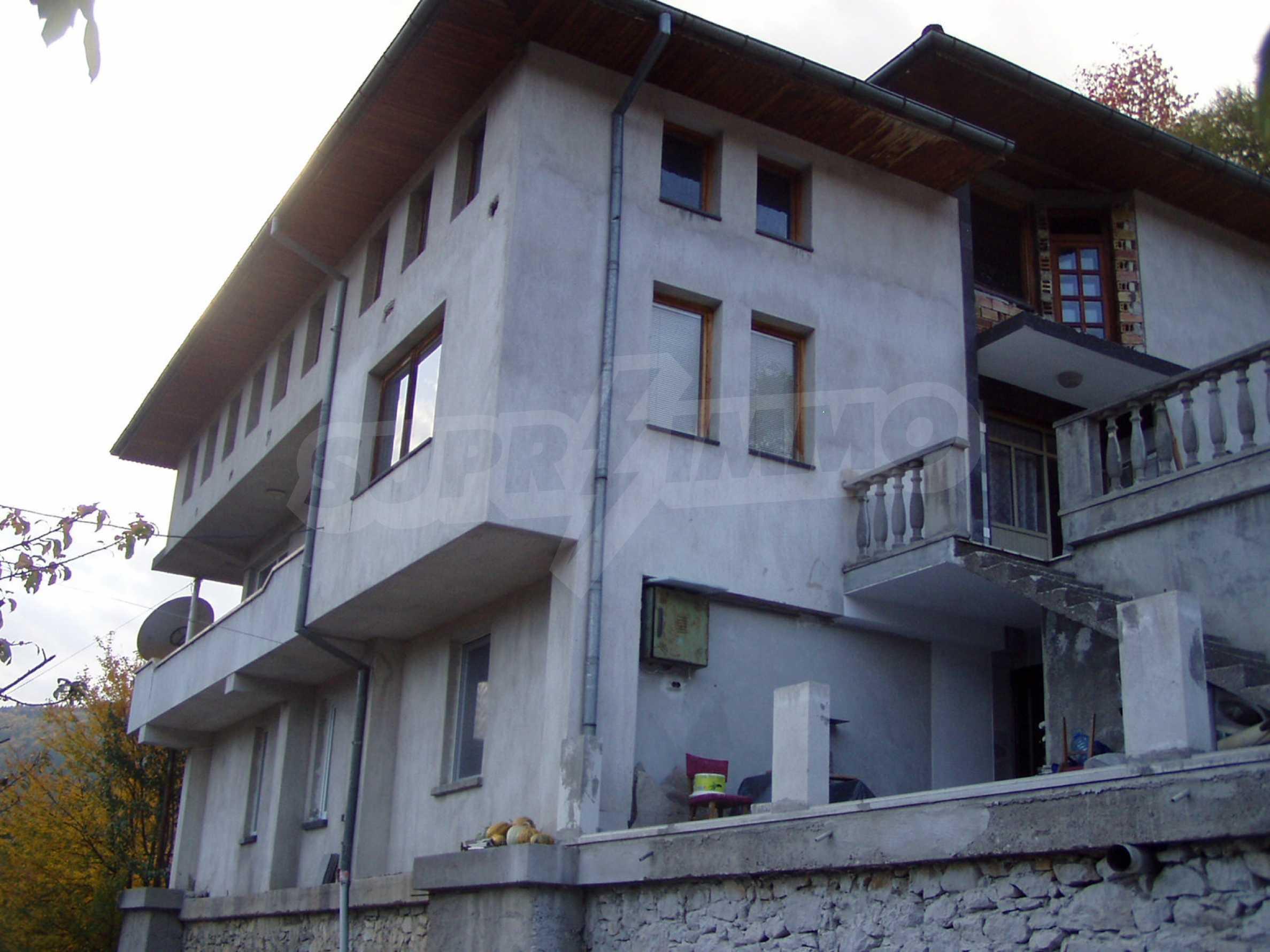 3-storey house with garden near Smolyan