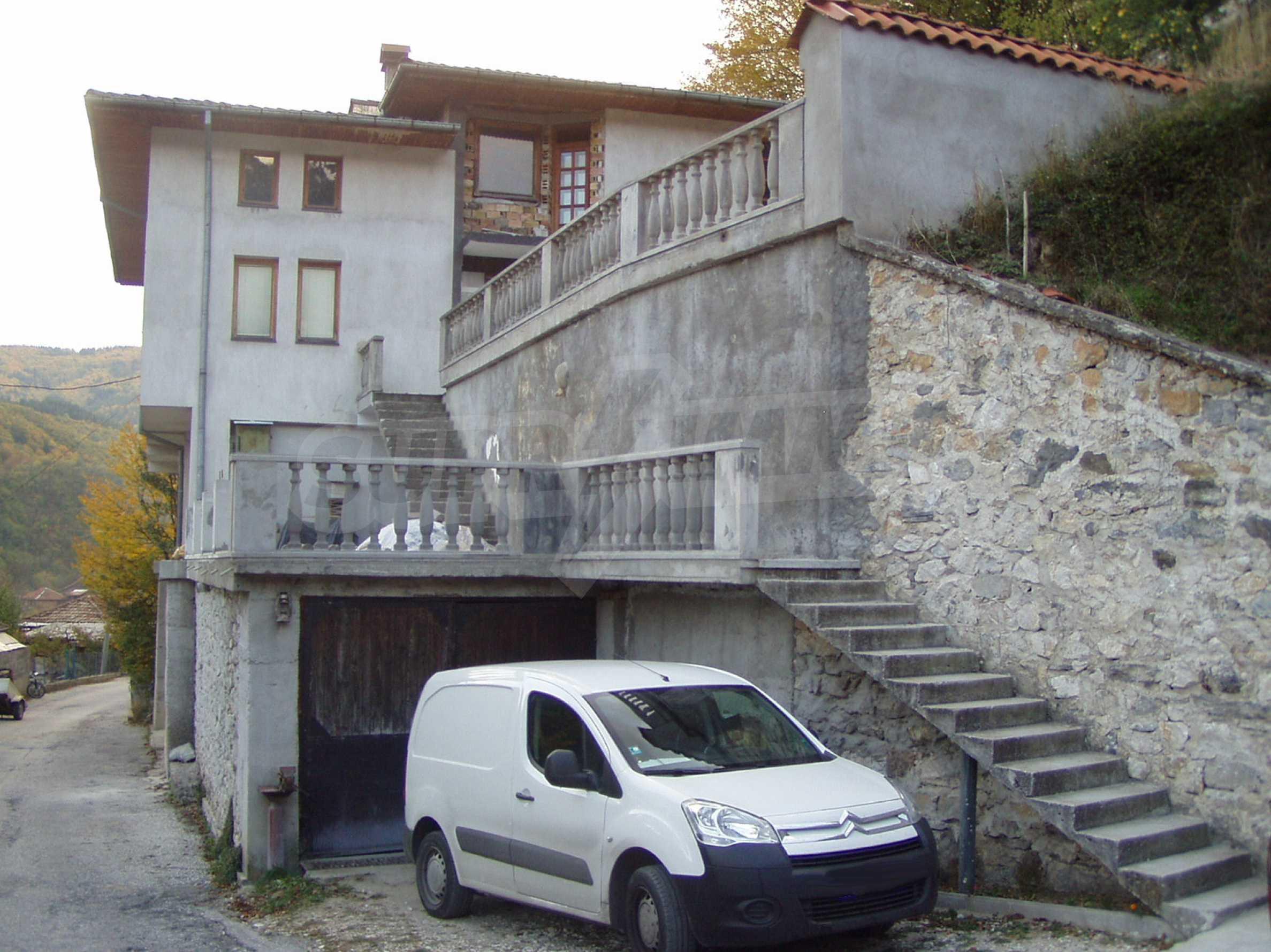 3-storey house with garden near Smolyan 1
