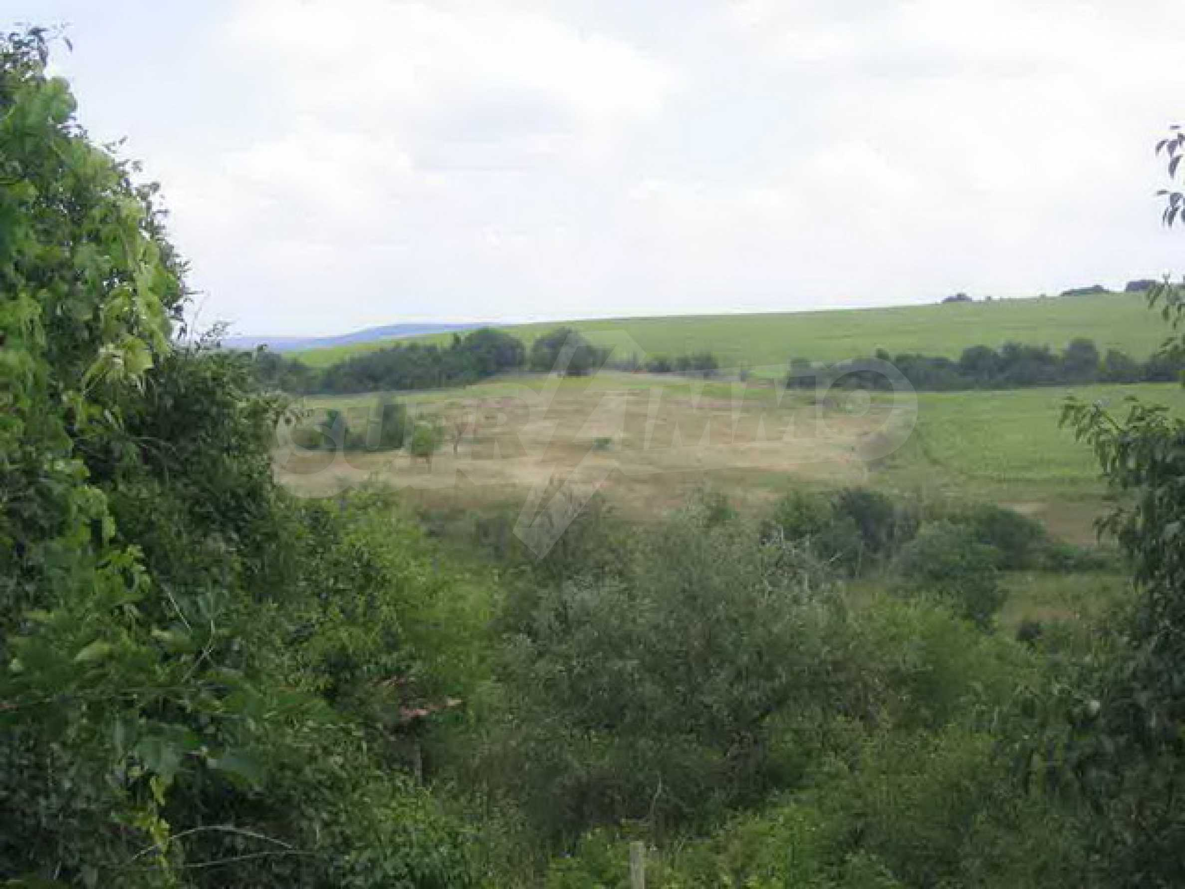 Grundstück in der Nähe eines kleinen Dammes 1