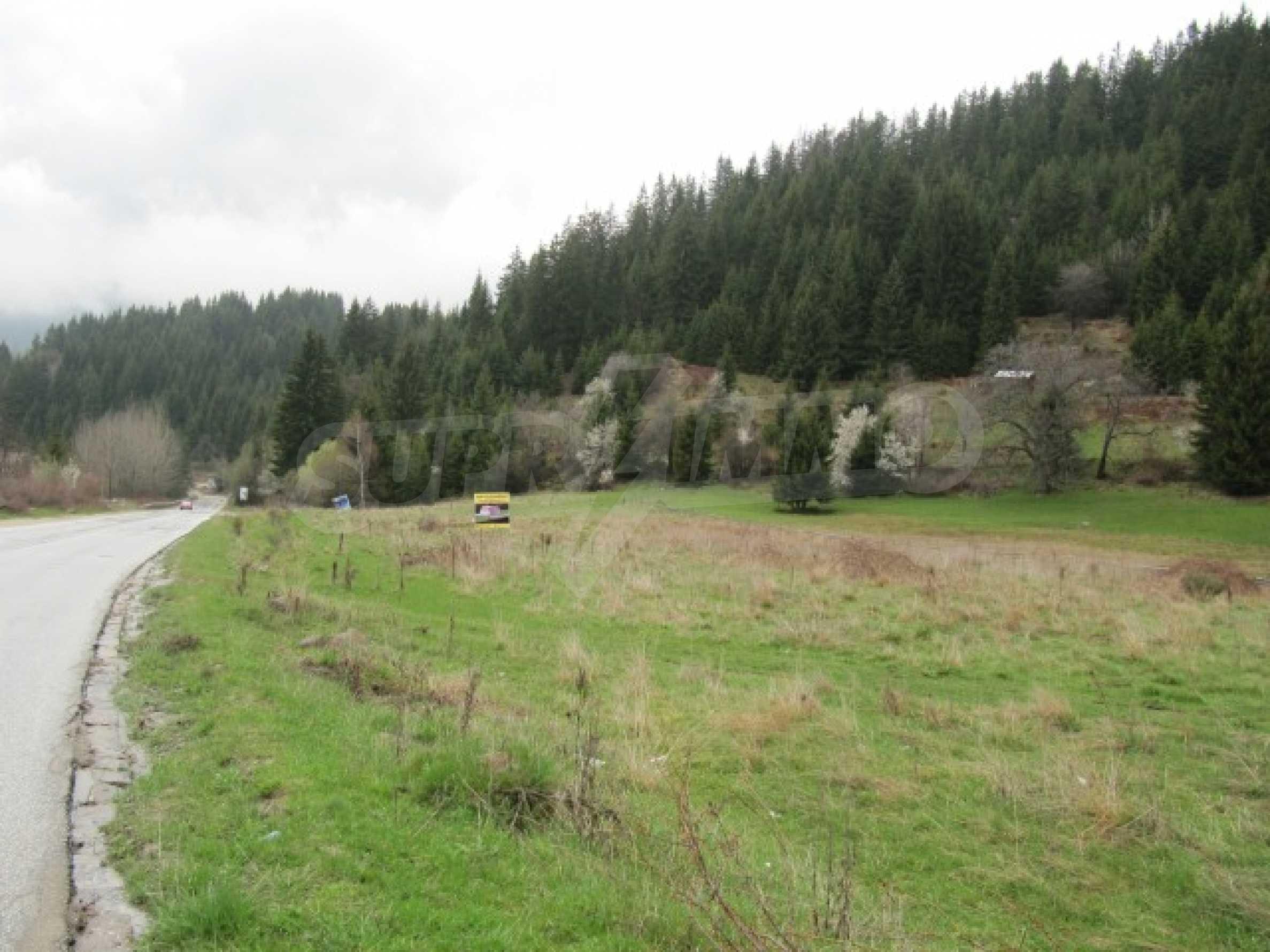 Голям парцел в регулация в Смолян и на 10 км от Пампорово  3