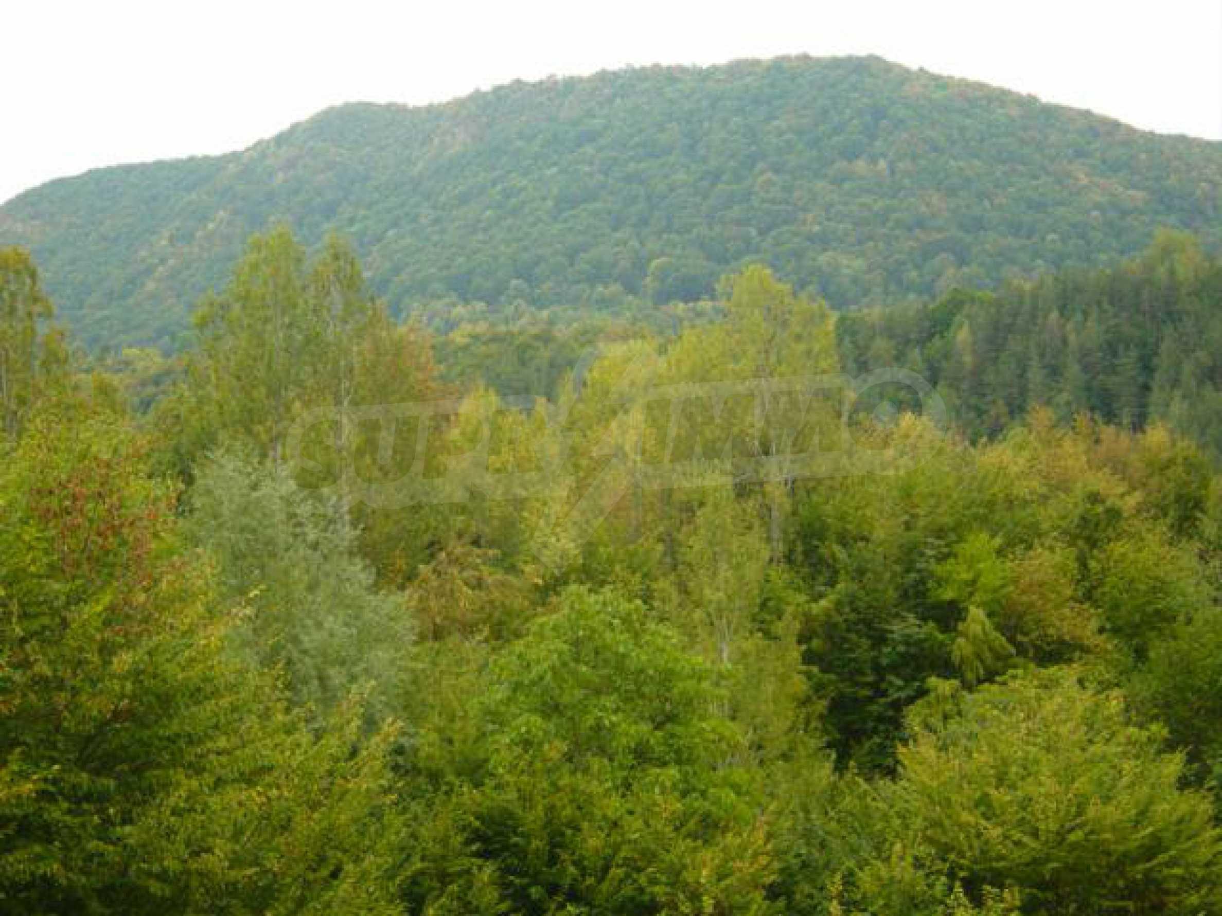 Ackerland inmitten der wunderschönen Natur des Teteven Balkan 1