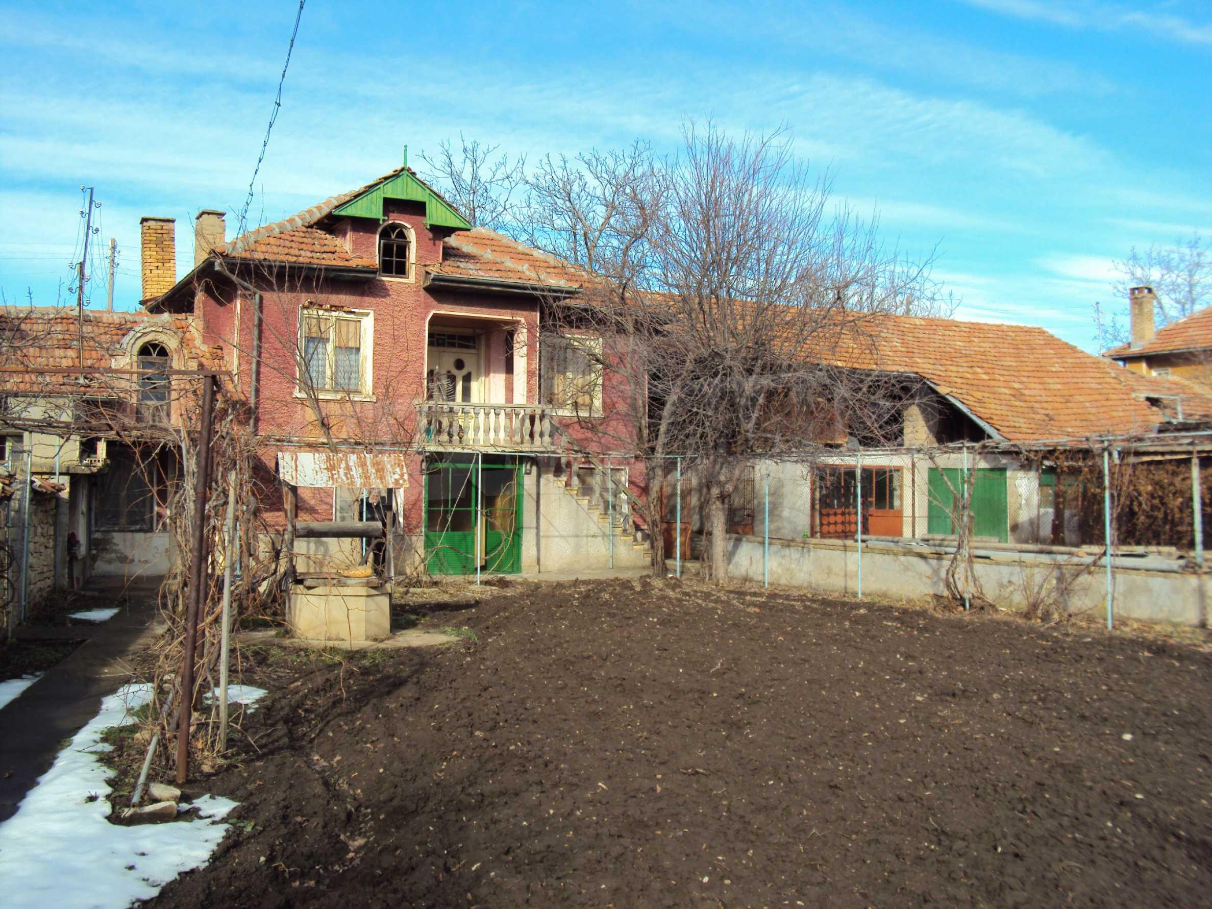 Two-storey house in village close 35 km. from Veliko Tarnovo