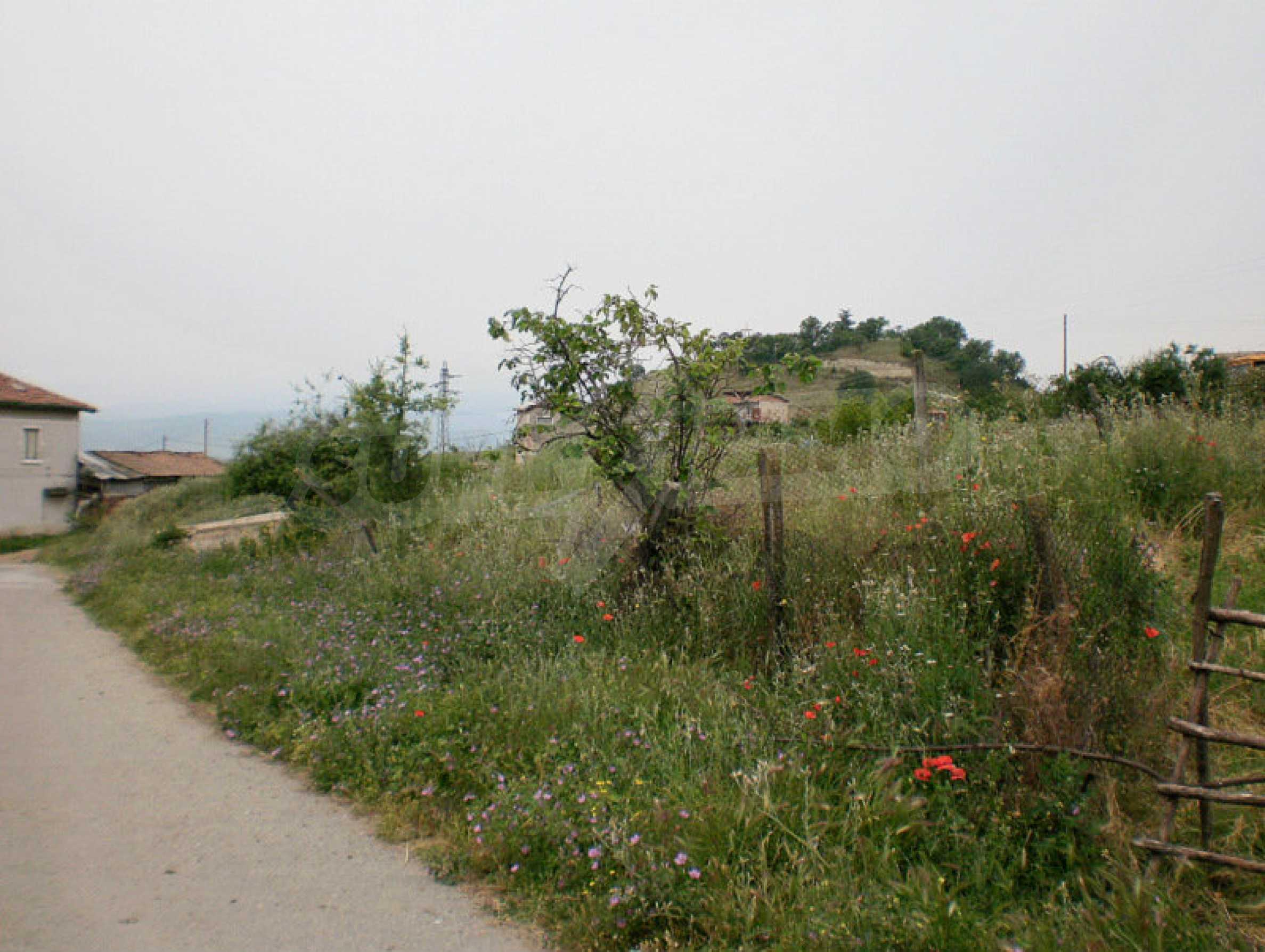 Grundstück mit Panoramablick auf die Sandpyramiden von Melnik 5