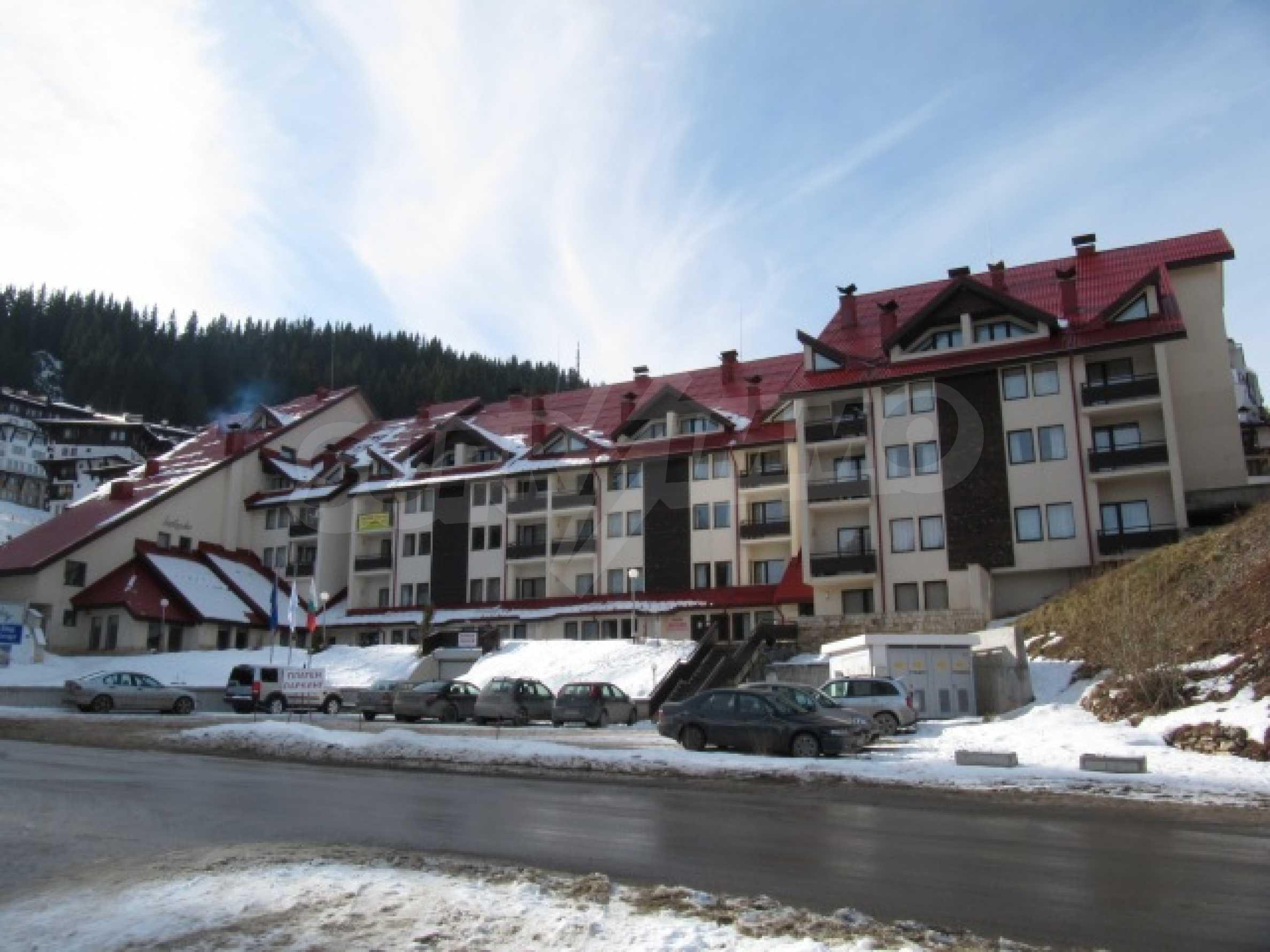Трехкомнатная квартира на продажу в горнолыжном курорте Пампорово