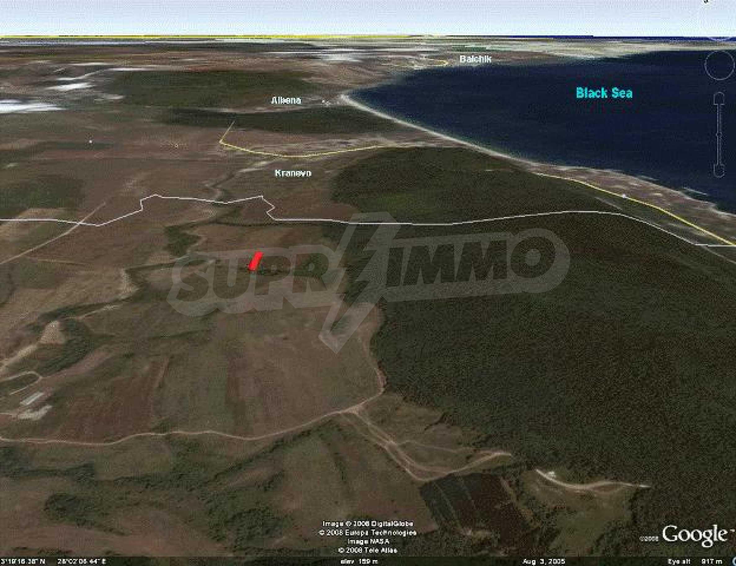 Огромный участок земли недалеко от моря!