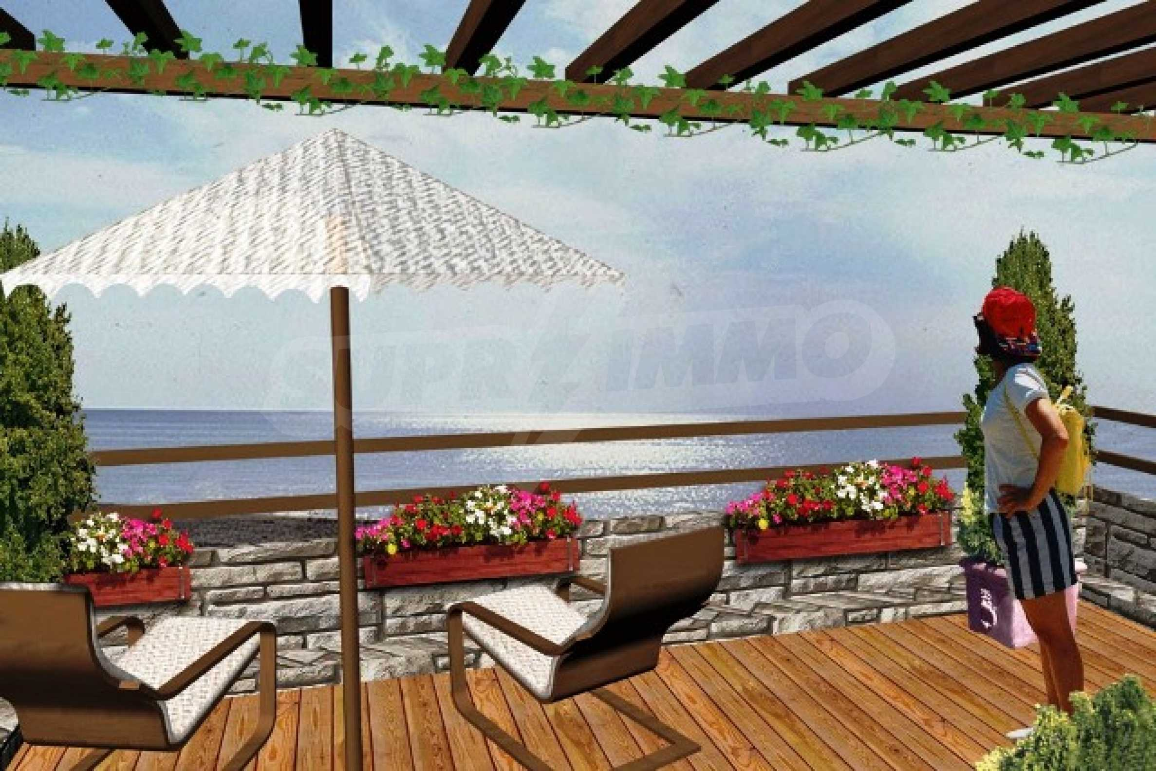 Absolute-waterfront plot of land for sale in Byala with project Biala diamond 18