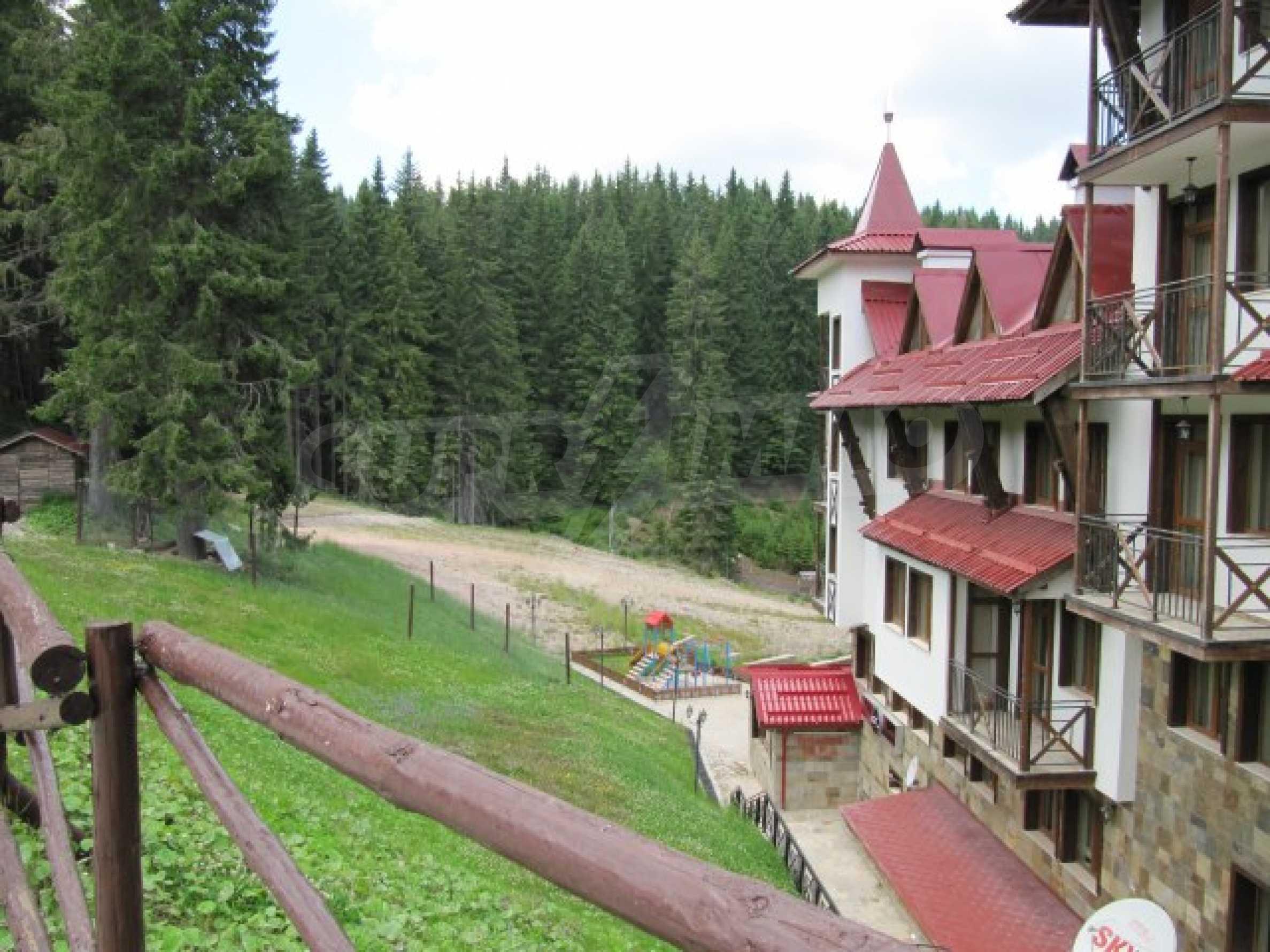 Студио близо до центъра на популярен ски курорт  3