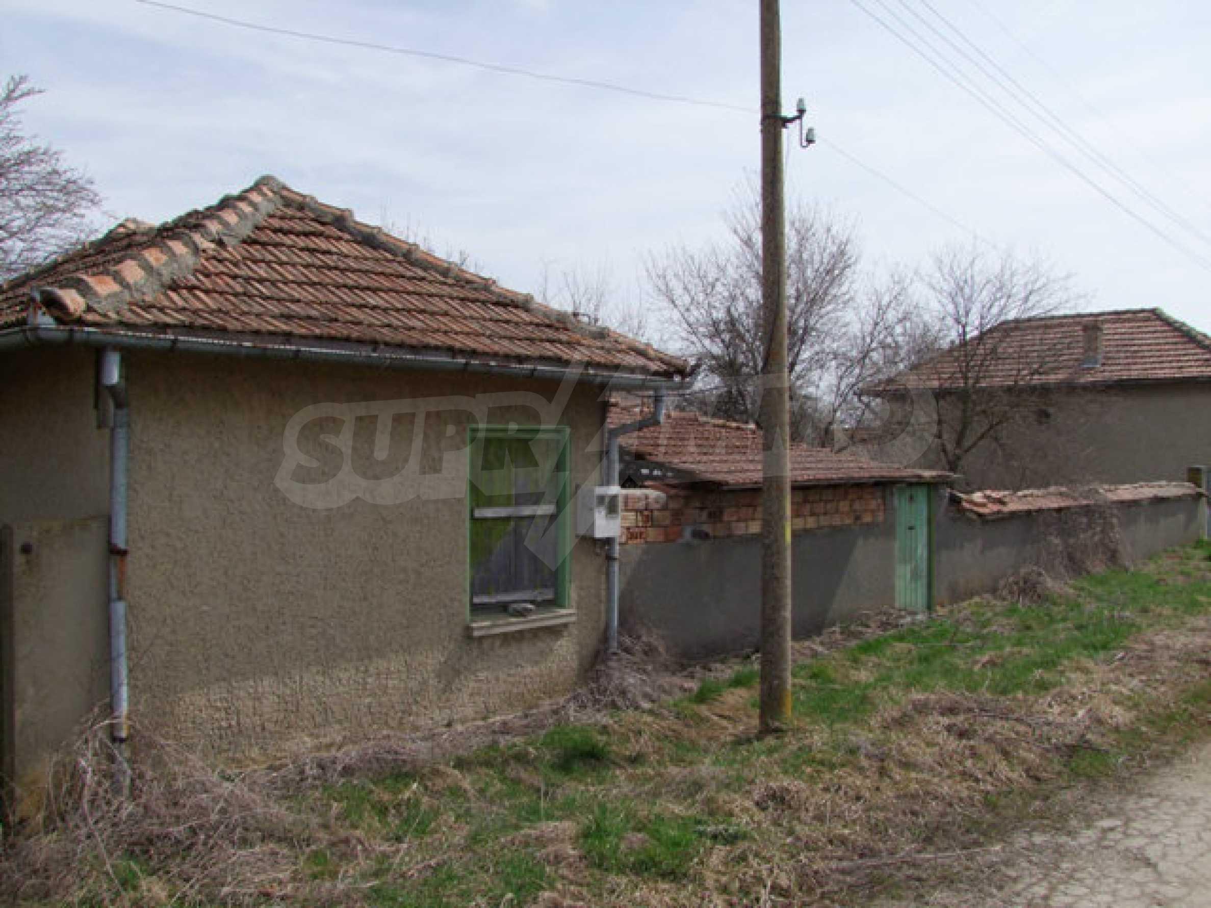 Backsteinhaus in einem Dorf, nur 100 Meter von der Hauptstraße entfernt 27