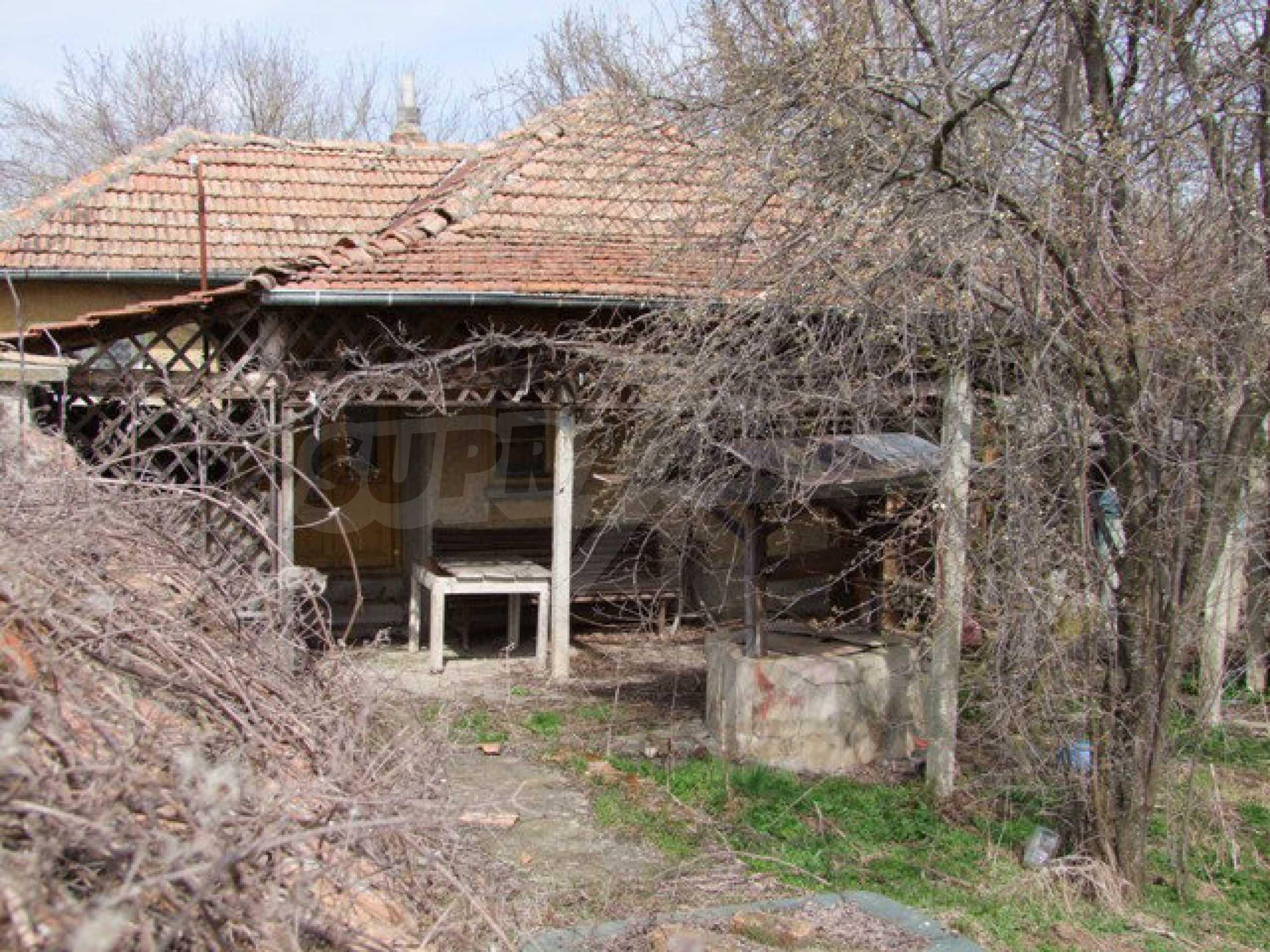 Backsteinhaus in einem Dorf, nur 100 Meter von der Hauptstraße entfernt 30