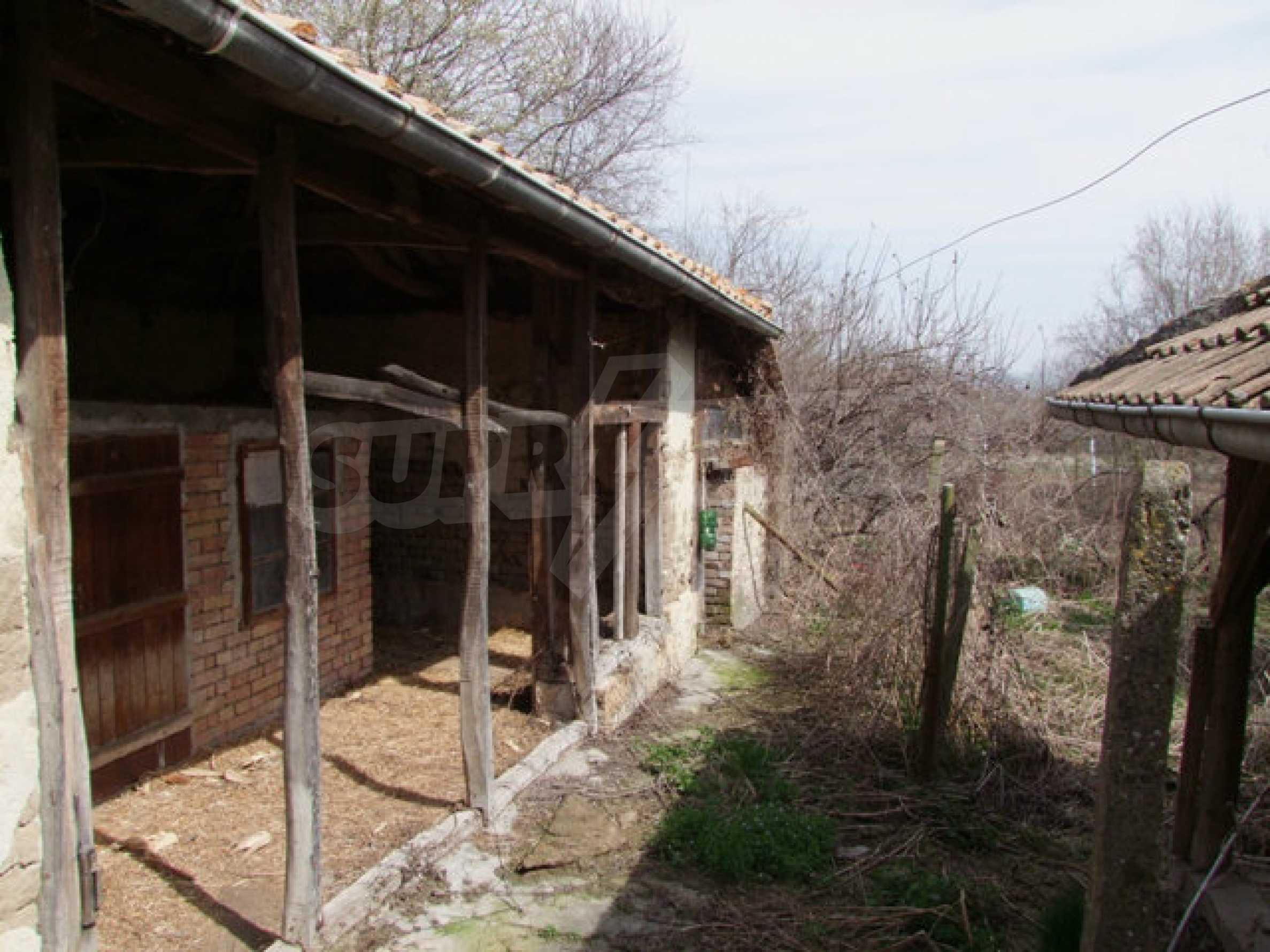Backsteinhaus in einem Dorf, nur 100 Meter von der Hauptstraße entfernt 43