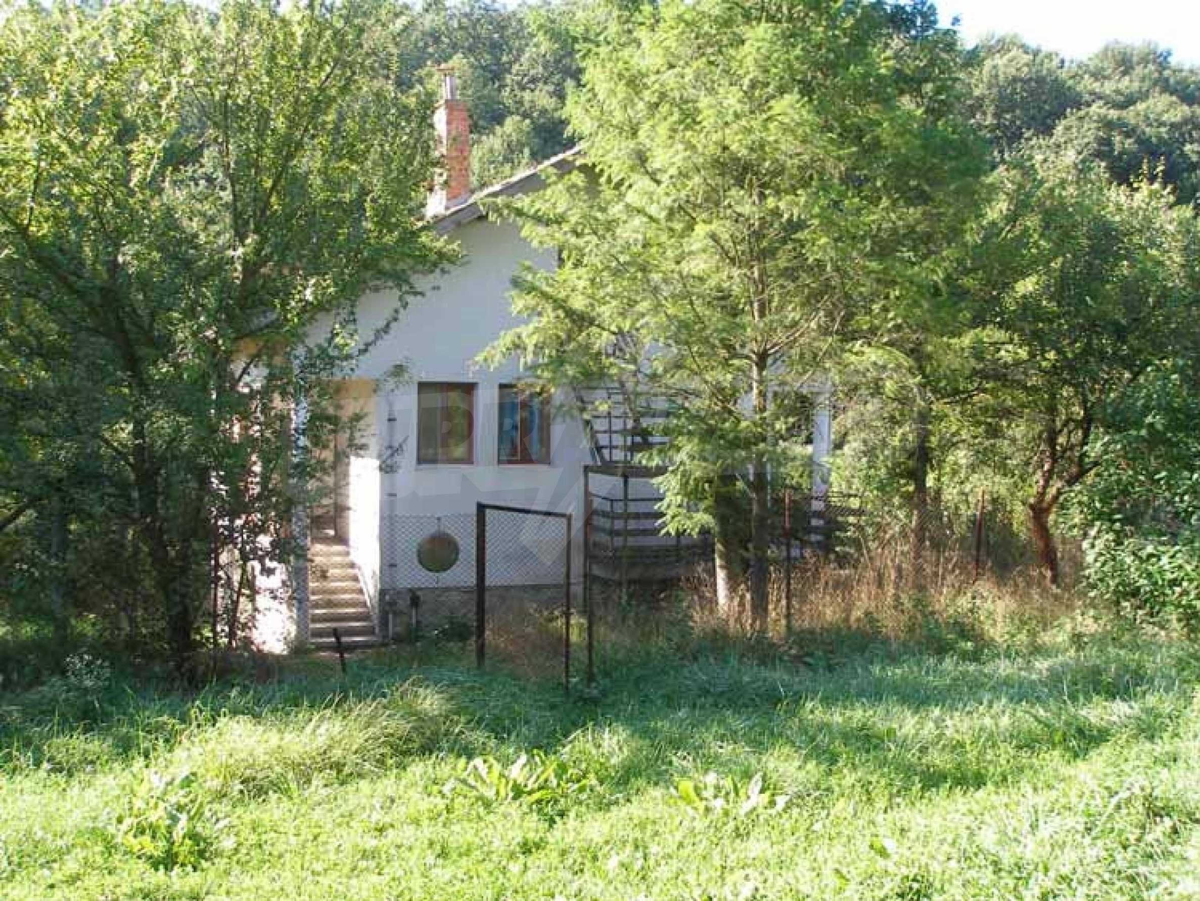 Two-storey, solid built house 30 km. from Veliko Tarnovo