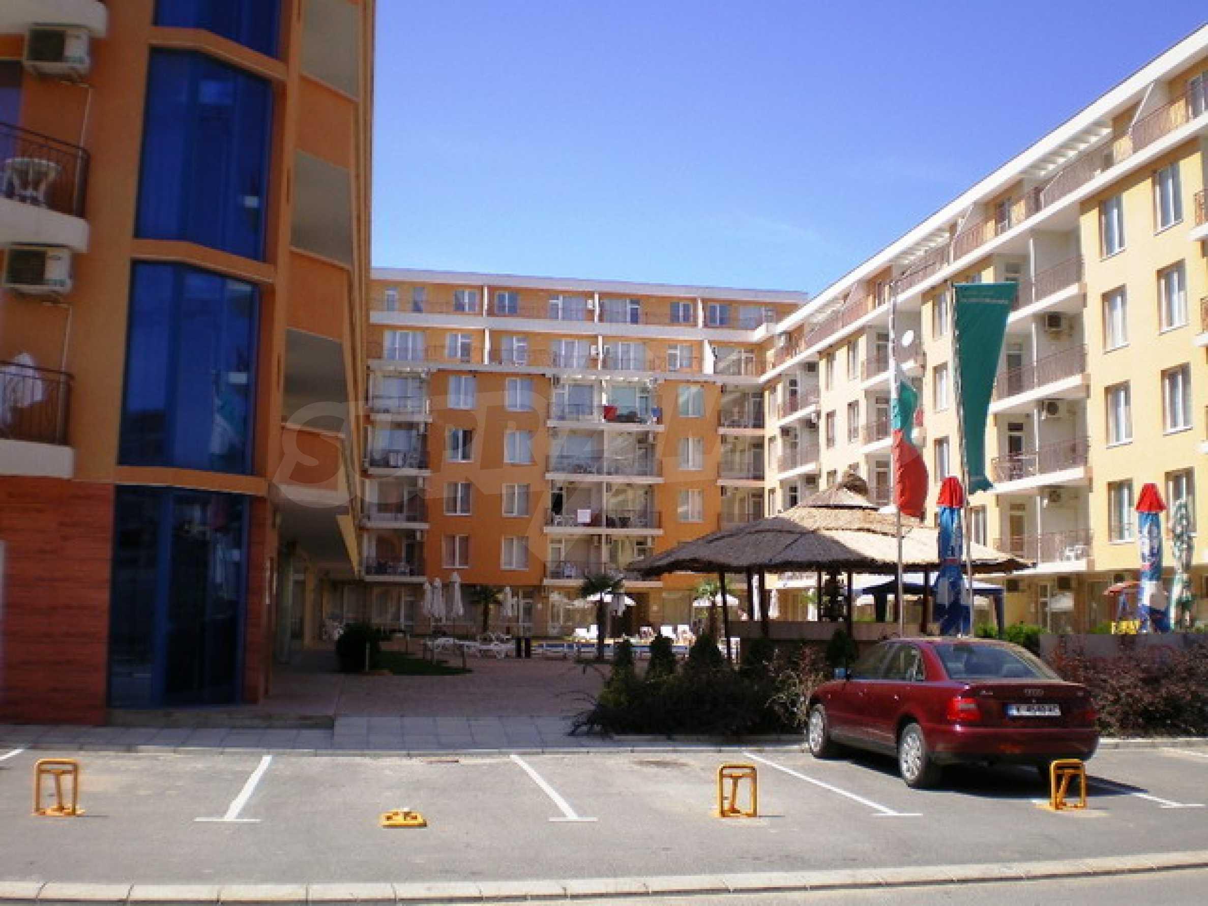 Трёхкомнатная квартира в комплексе Sunny Day 2 5