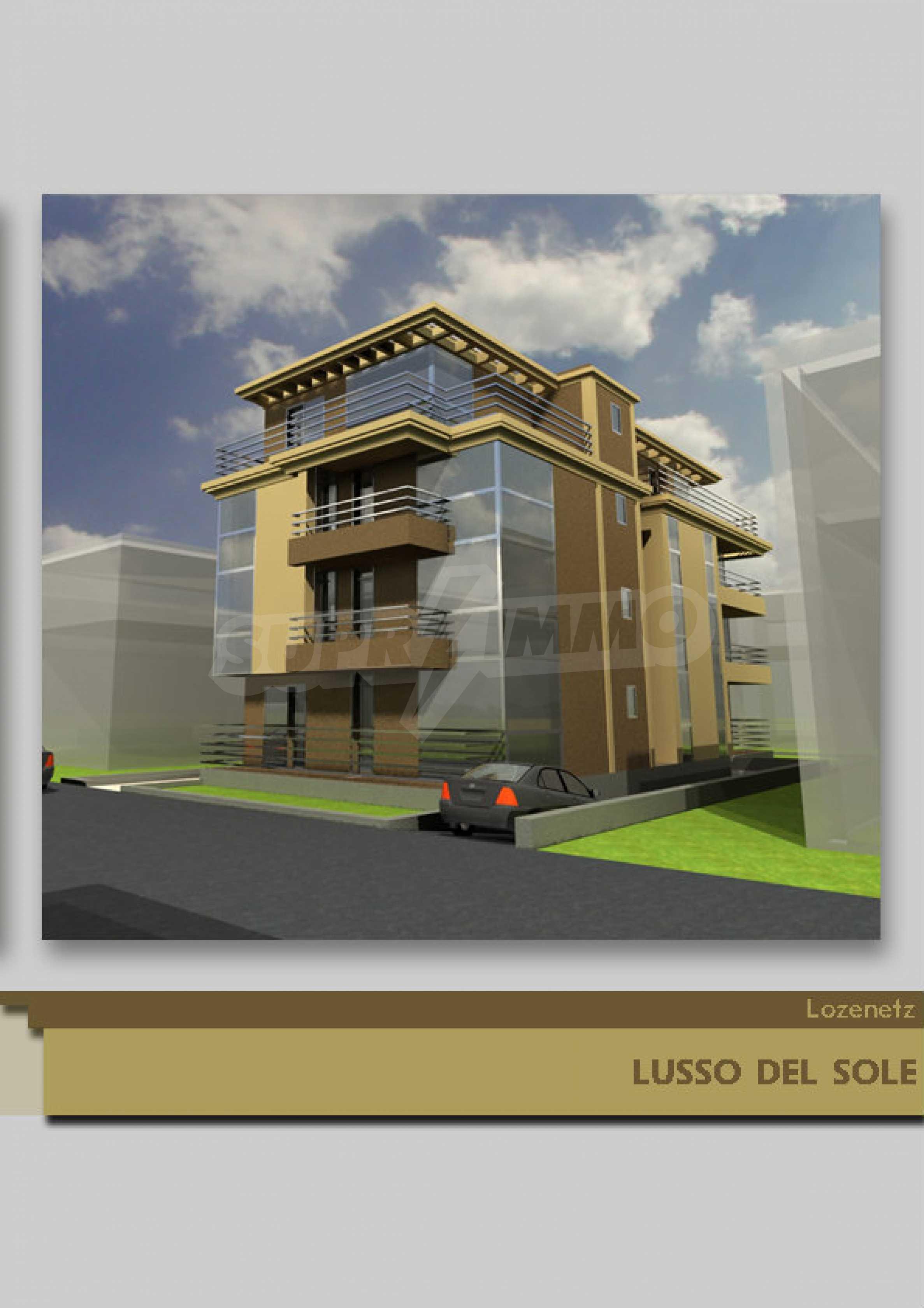 Development project in Lozenets 2