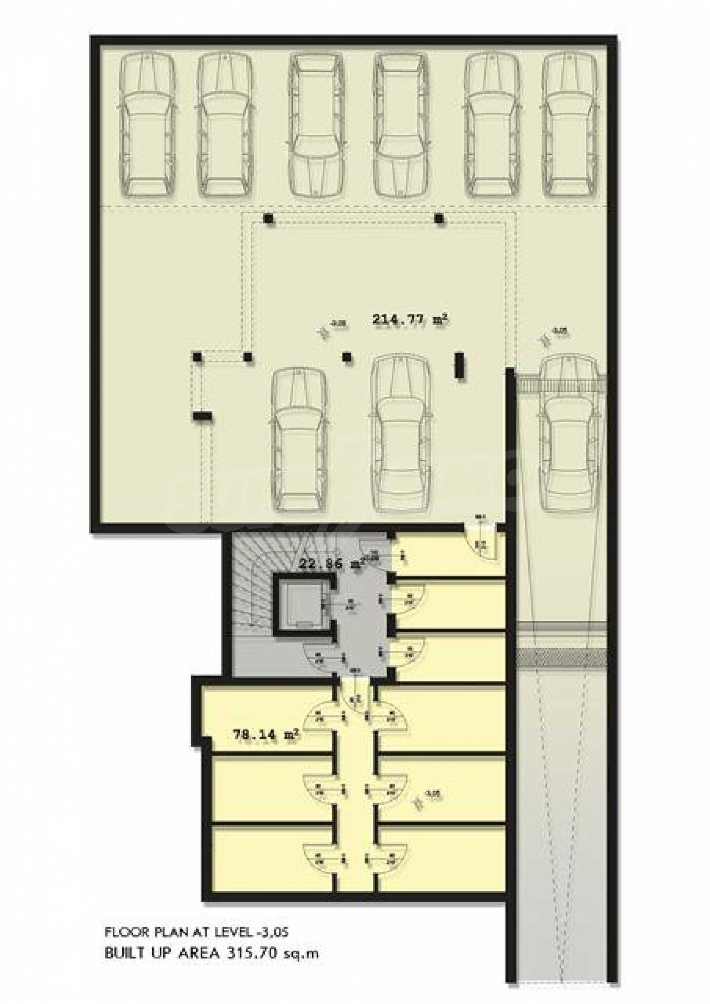Development project in Lozenets 8