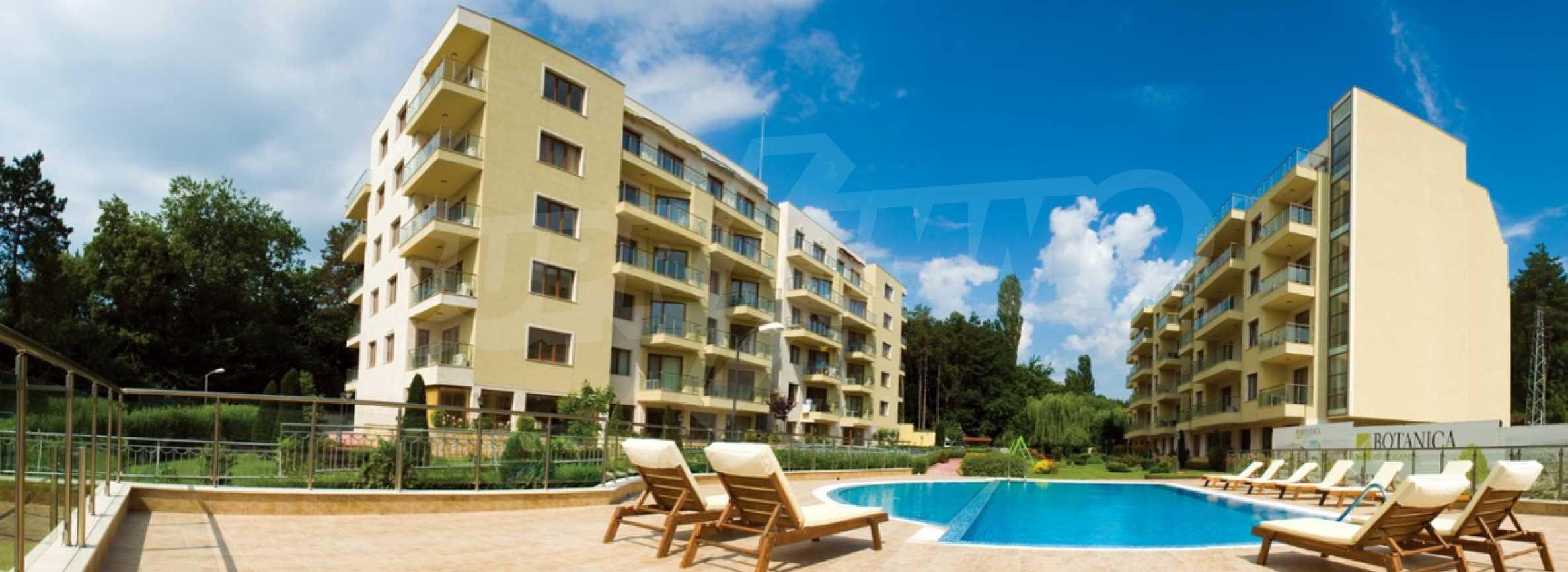 """Apartments """"schlüsselfertig"""" in einem Komplex in der Nähe des Botanischen Gartens und St. Konstantin und Helena 3"""
