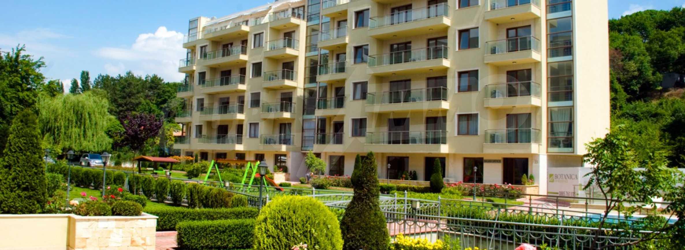 Апартаменти до ключ в комплекс до Ботаническата градина и Св. Константин и Елена 4