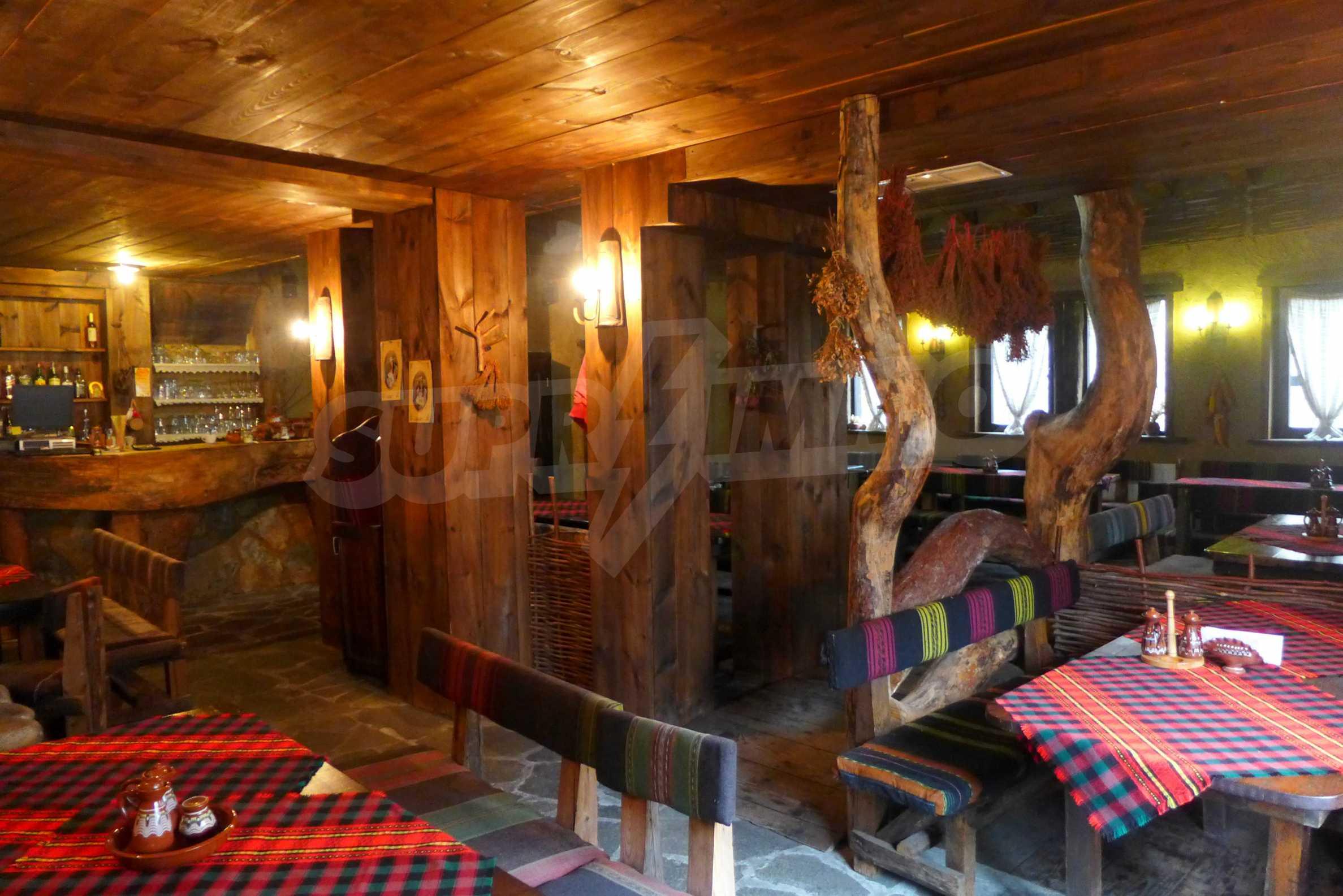 Familienhotel mit Taverne und Schönheitssalon im Kurort Dobrinishte