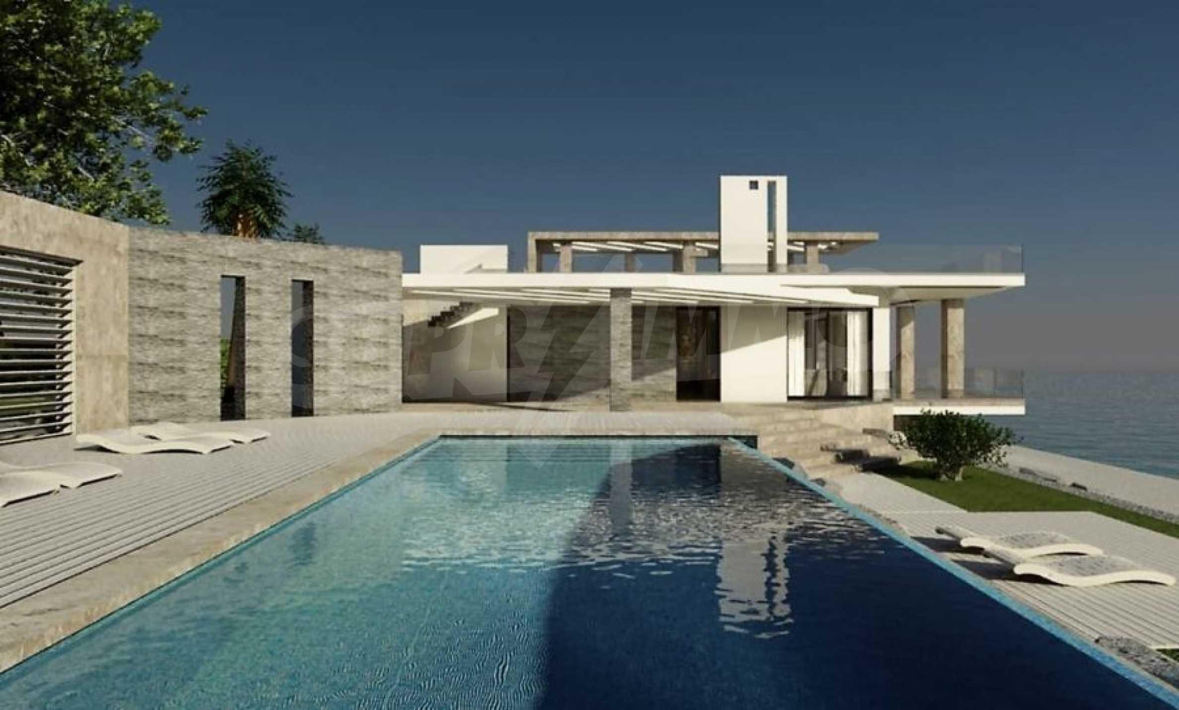 Елитна къща с ексклузивен достъп до плаж